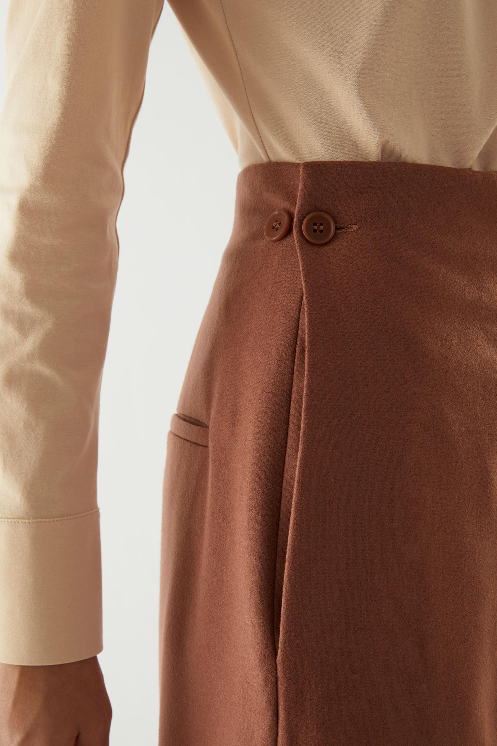 WOOL-CASHMERE TAILORED PANTS 4