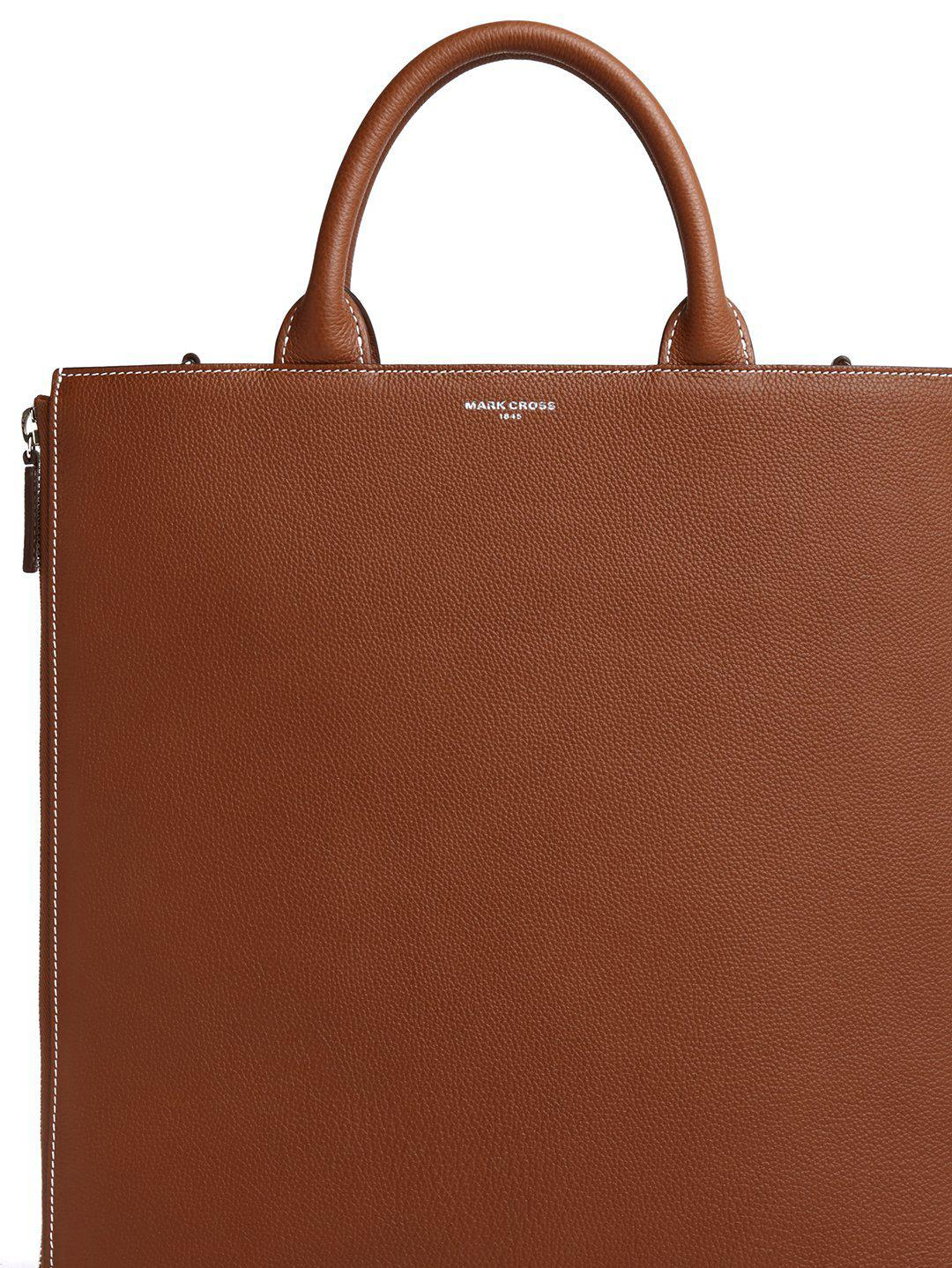 Sidney Leather Tote Bag 1