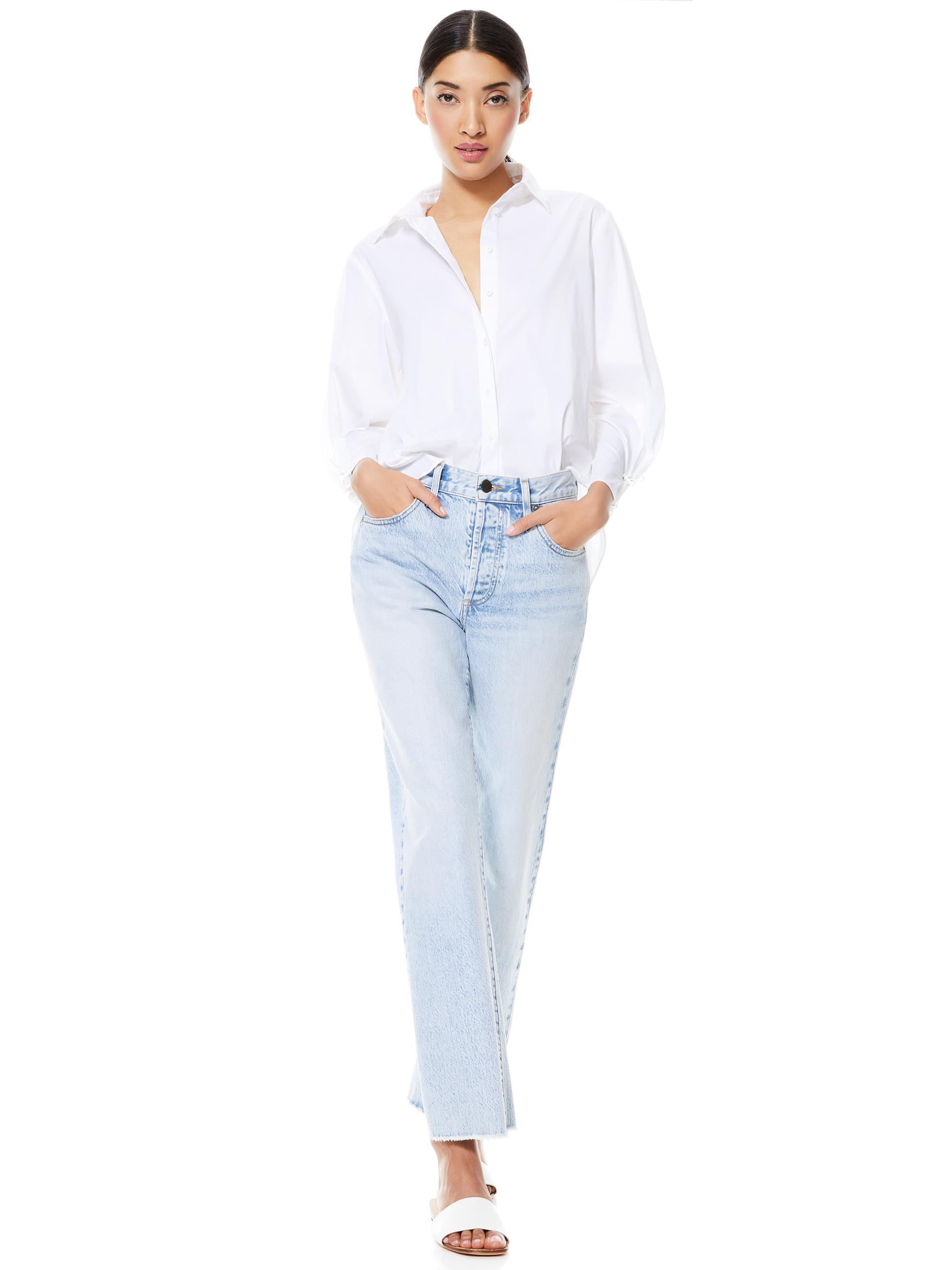 WES PLEATED SLEEVE BUTTON DOWN 3
