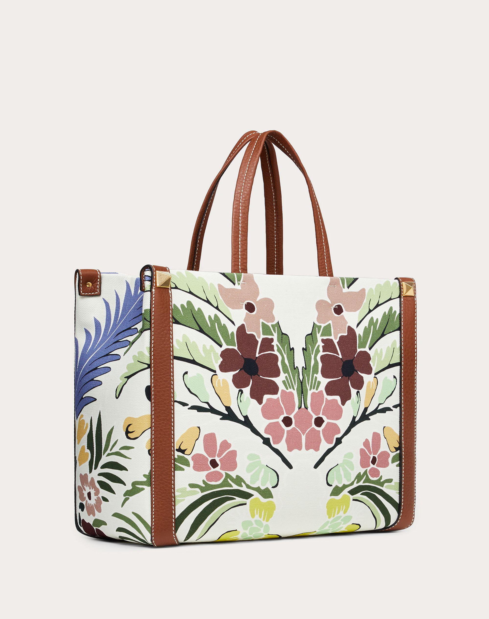 Small Canvas Tote Bag with Print 1