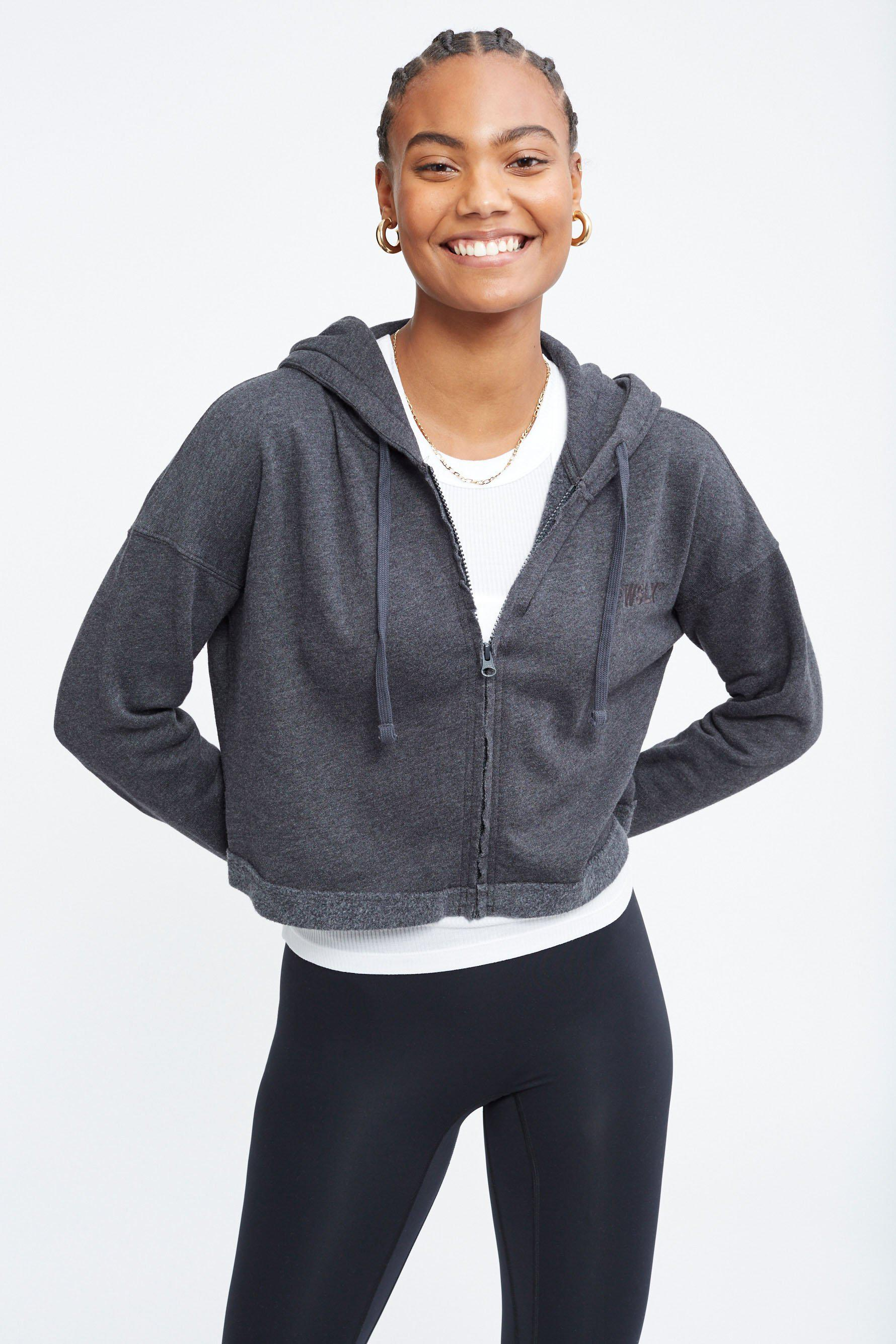 The Ecosoft Cropped Zip Up Hoodie 2