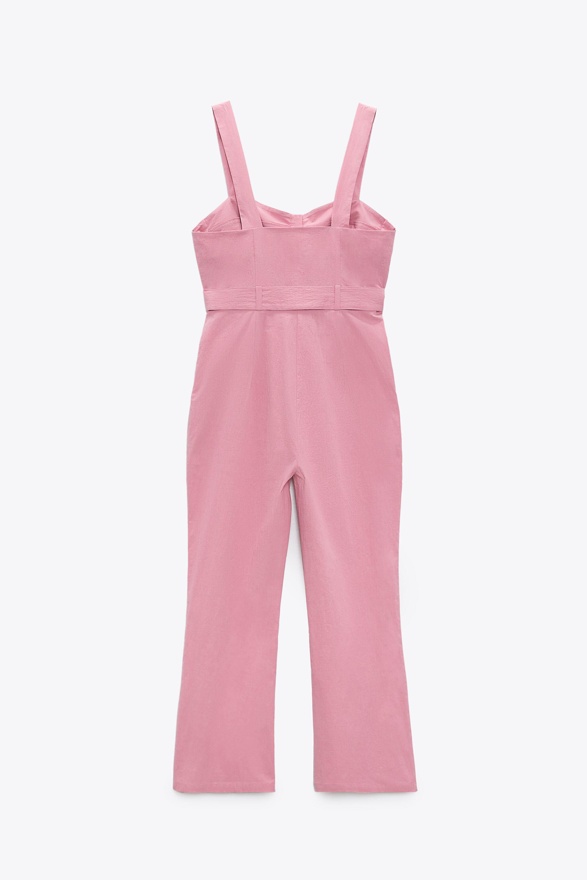 FITTED JUMPSUIT WITH BELT 4