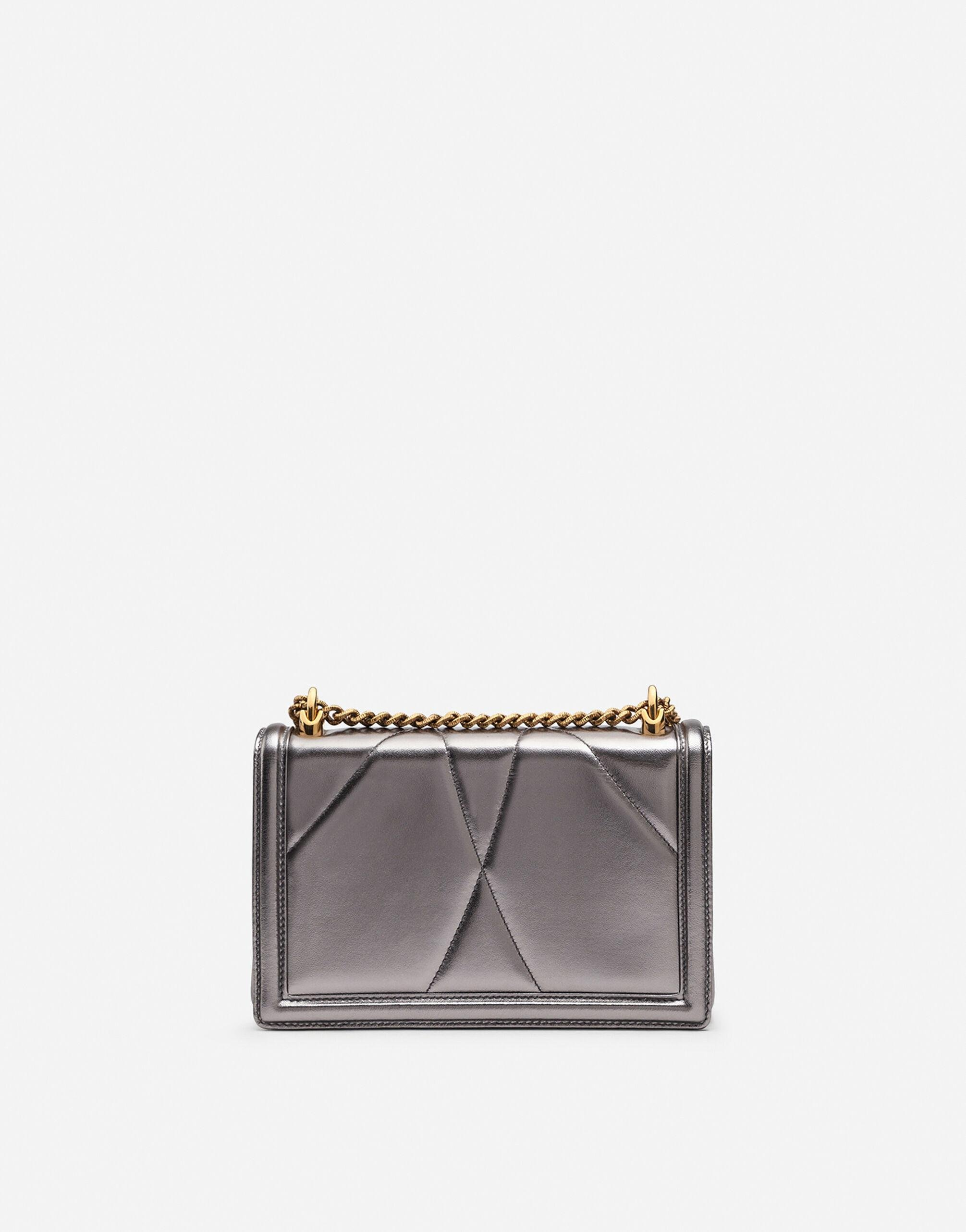 Medium Devotion bag in quilted nappa mordoré 2