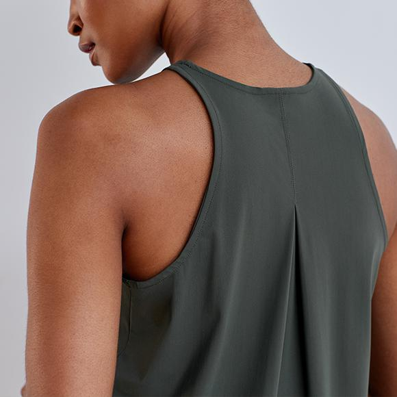 Pleat And Repeat Tank Top 7