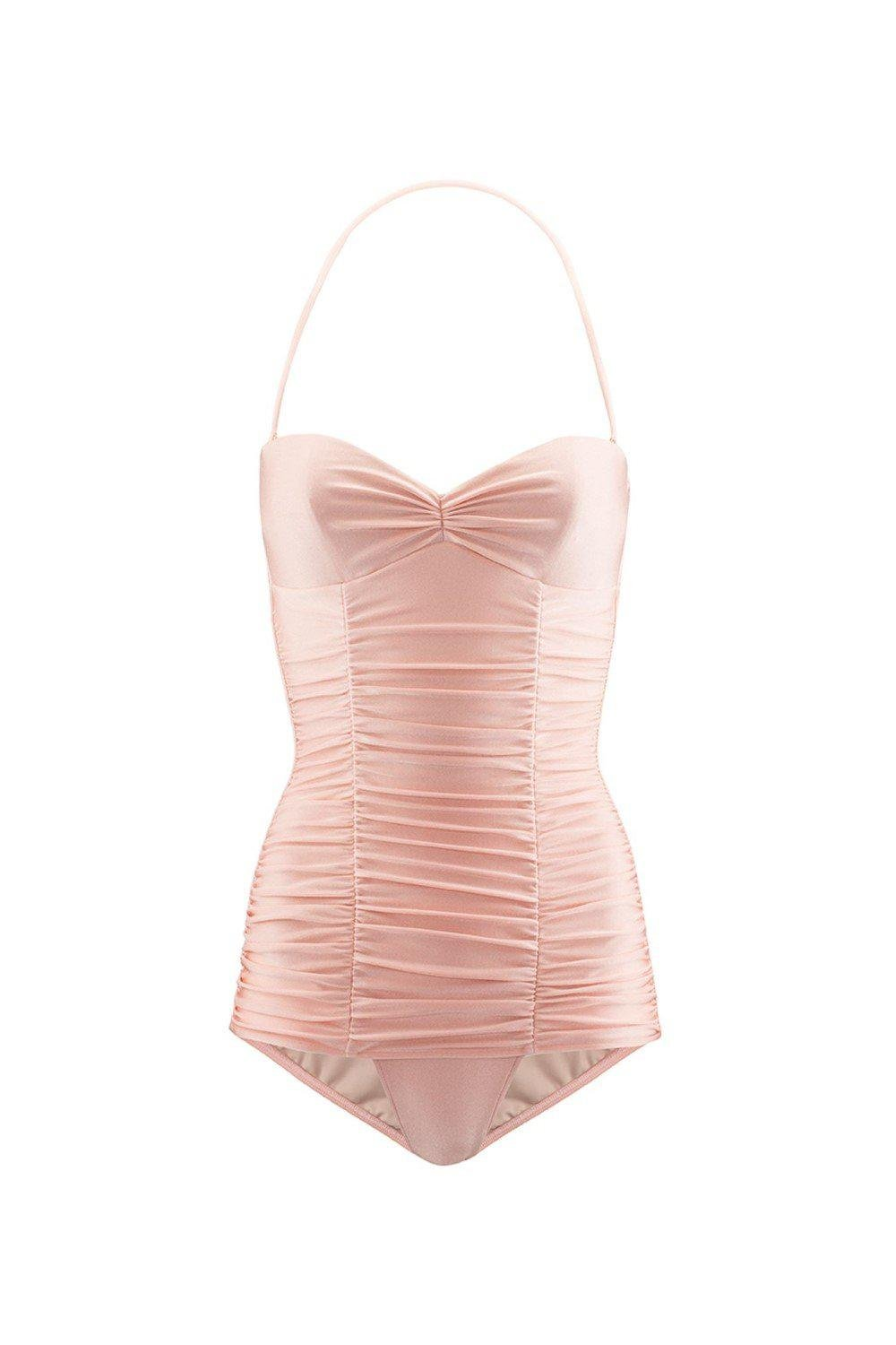 Pin-Up Ruched Swimsuit