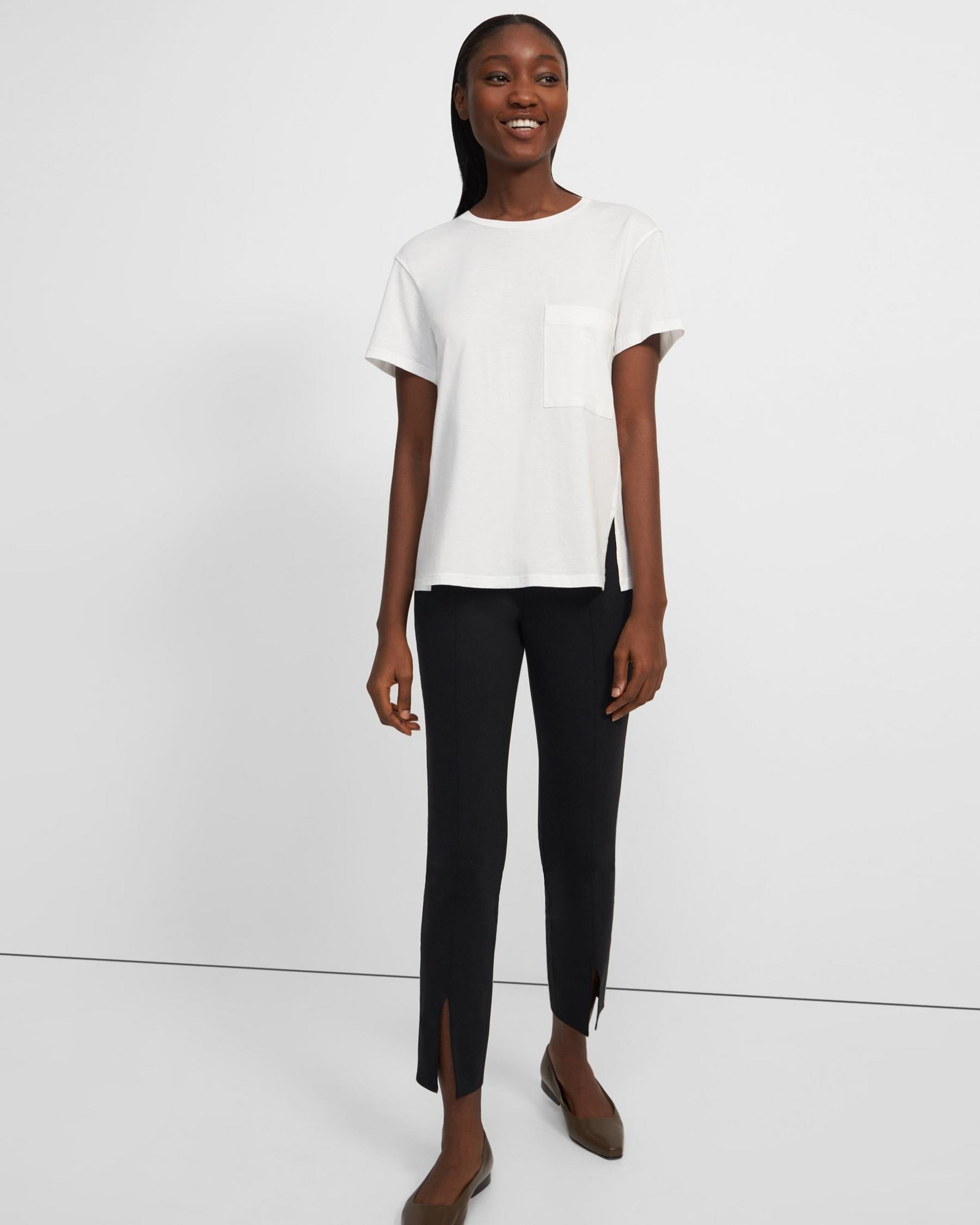 A-Line Tee in Cotton 3