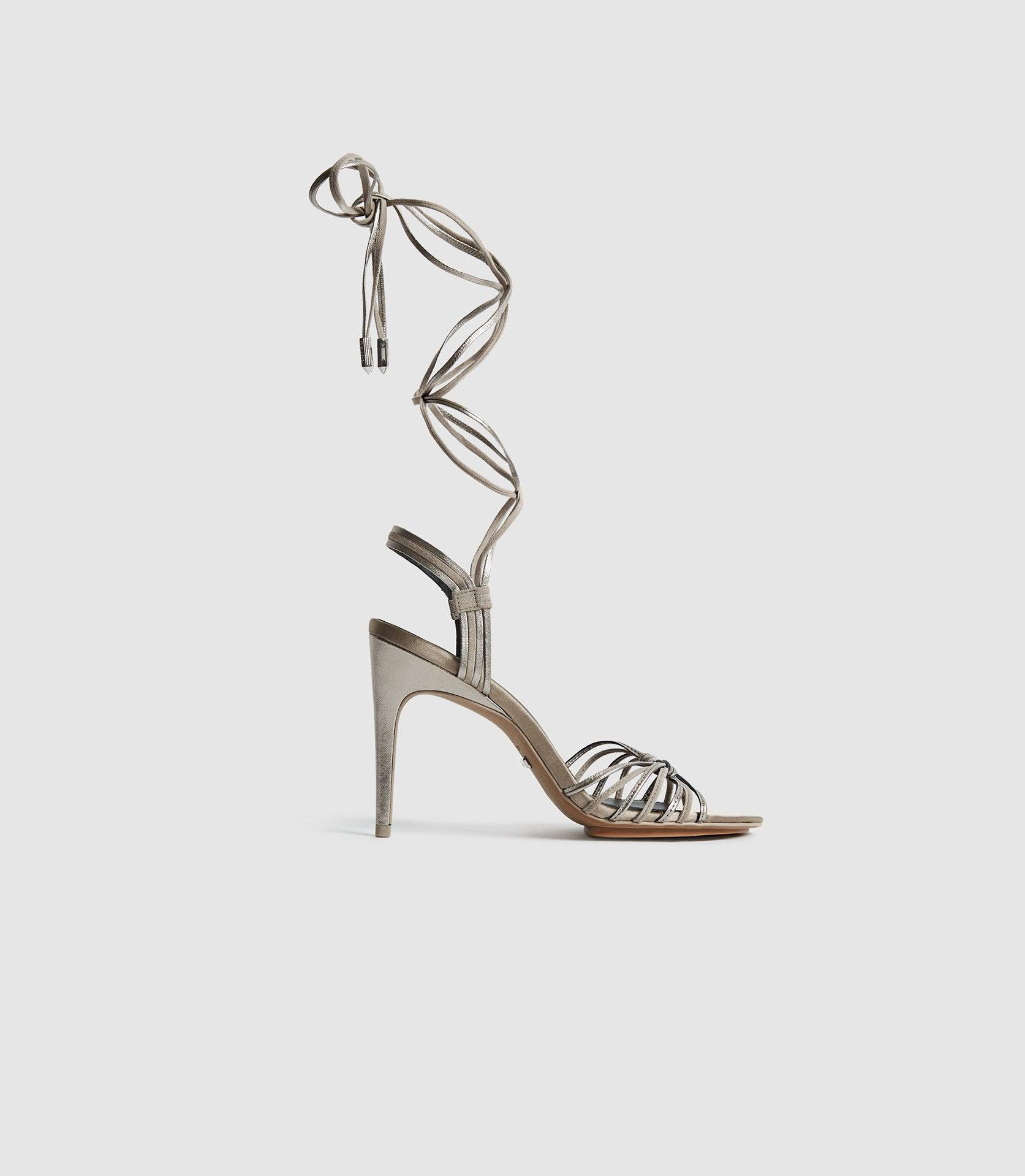 CASSIDY - STRAPPY HIGH HEELED SANDALS
