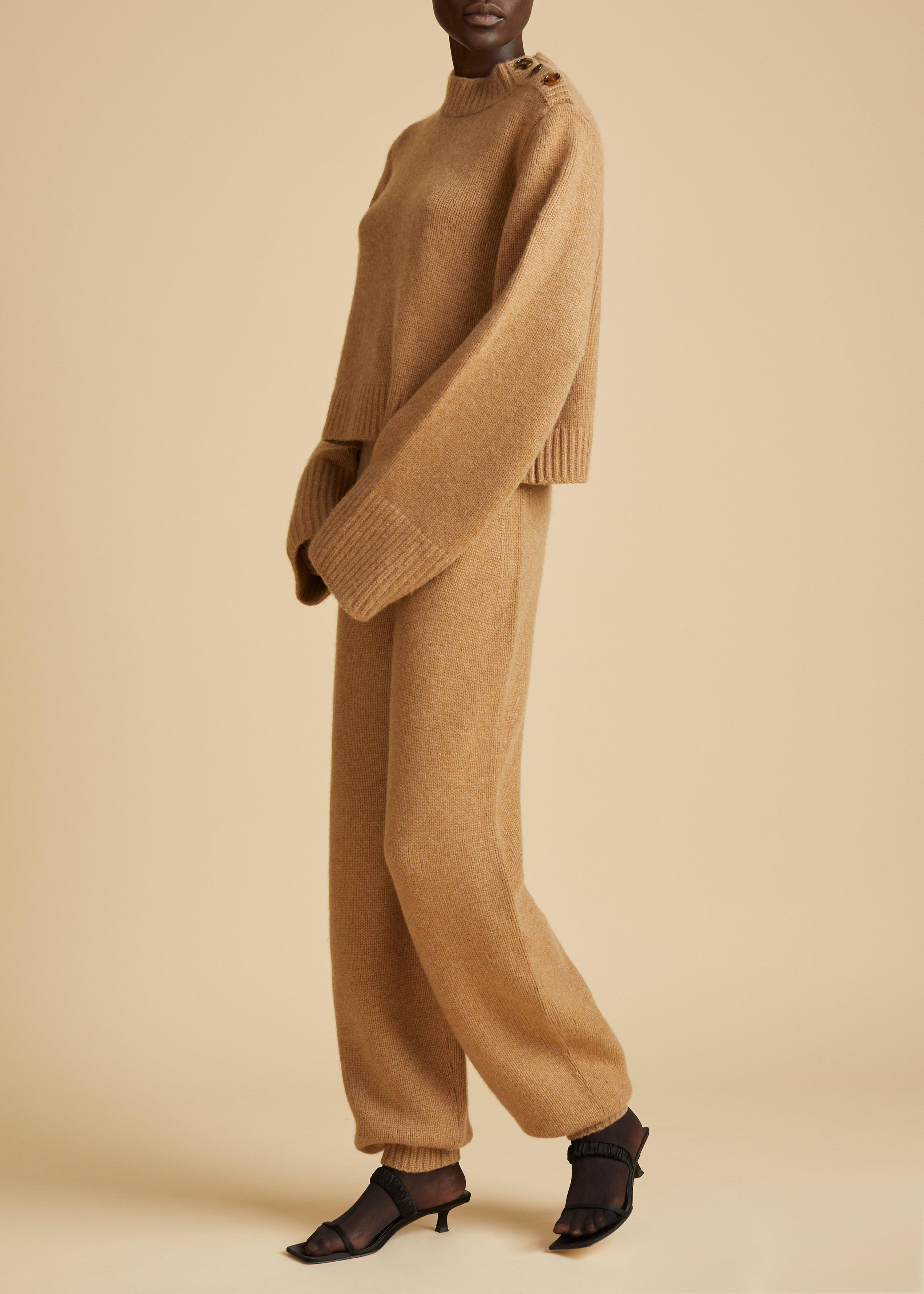 The Joey Pant in Camel
