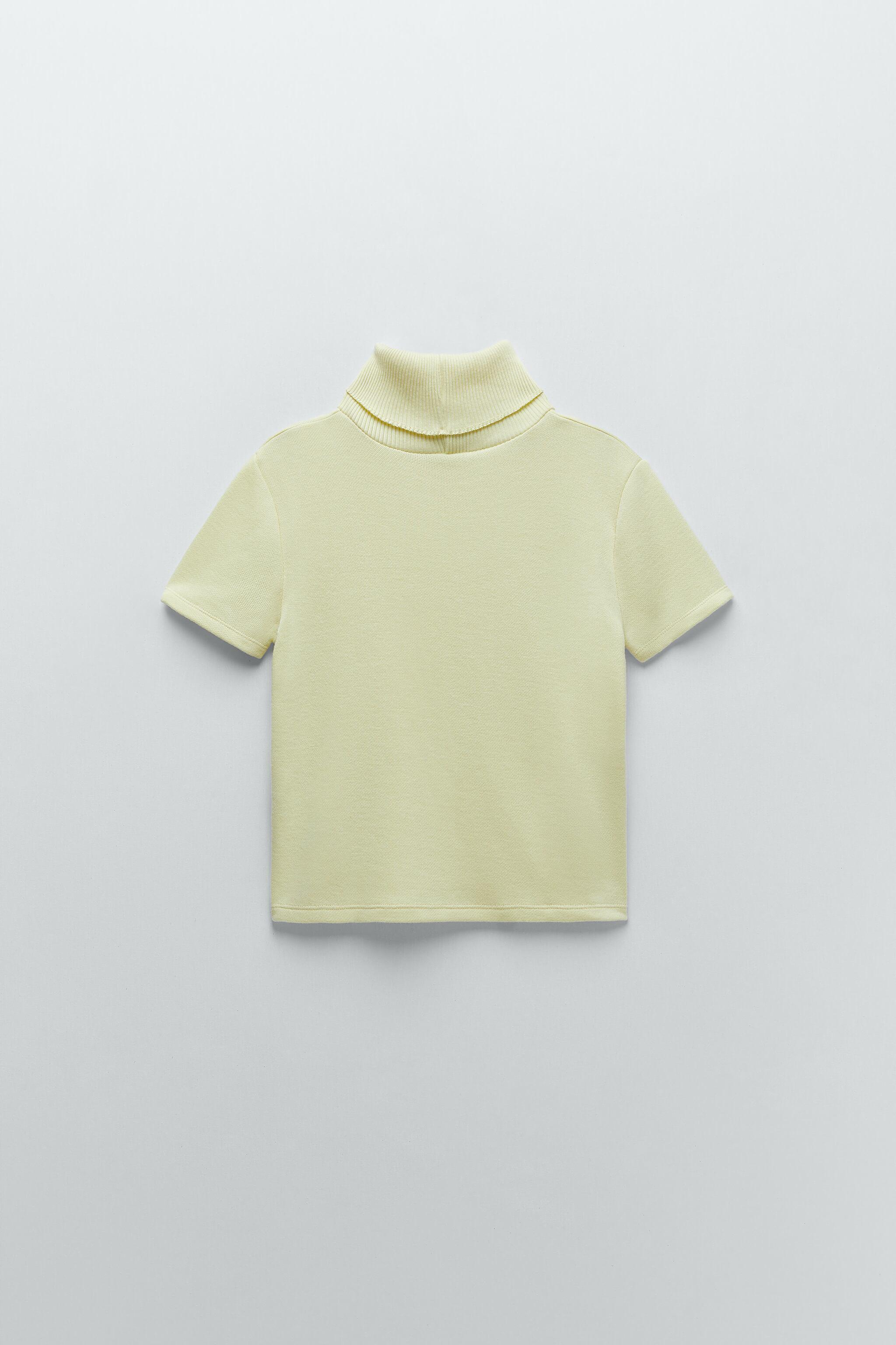 SOFT SHIRT WITH RIBBED COLLAR 4