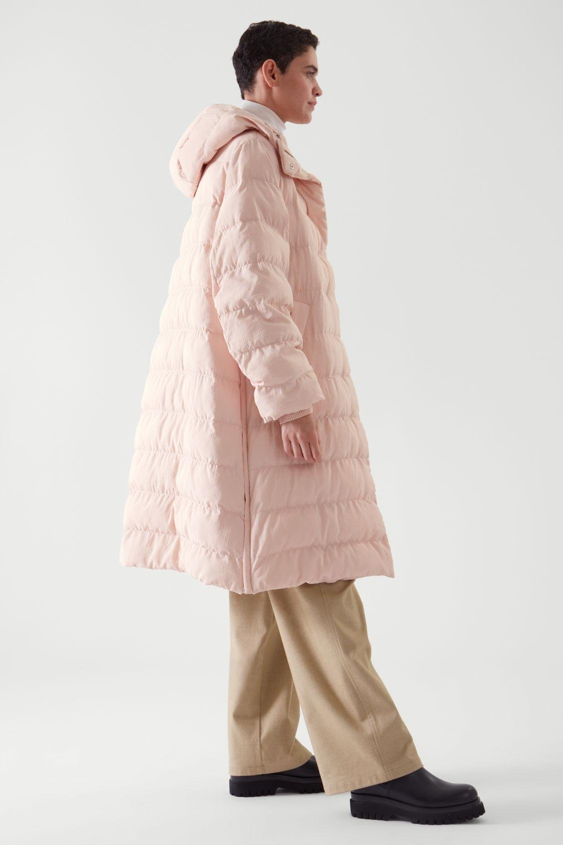 QUILTED FLWRDWN™ PUFFER COAT