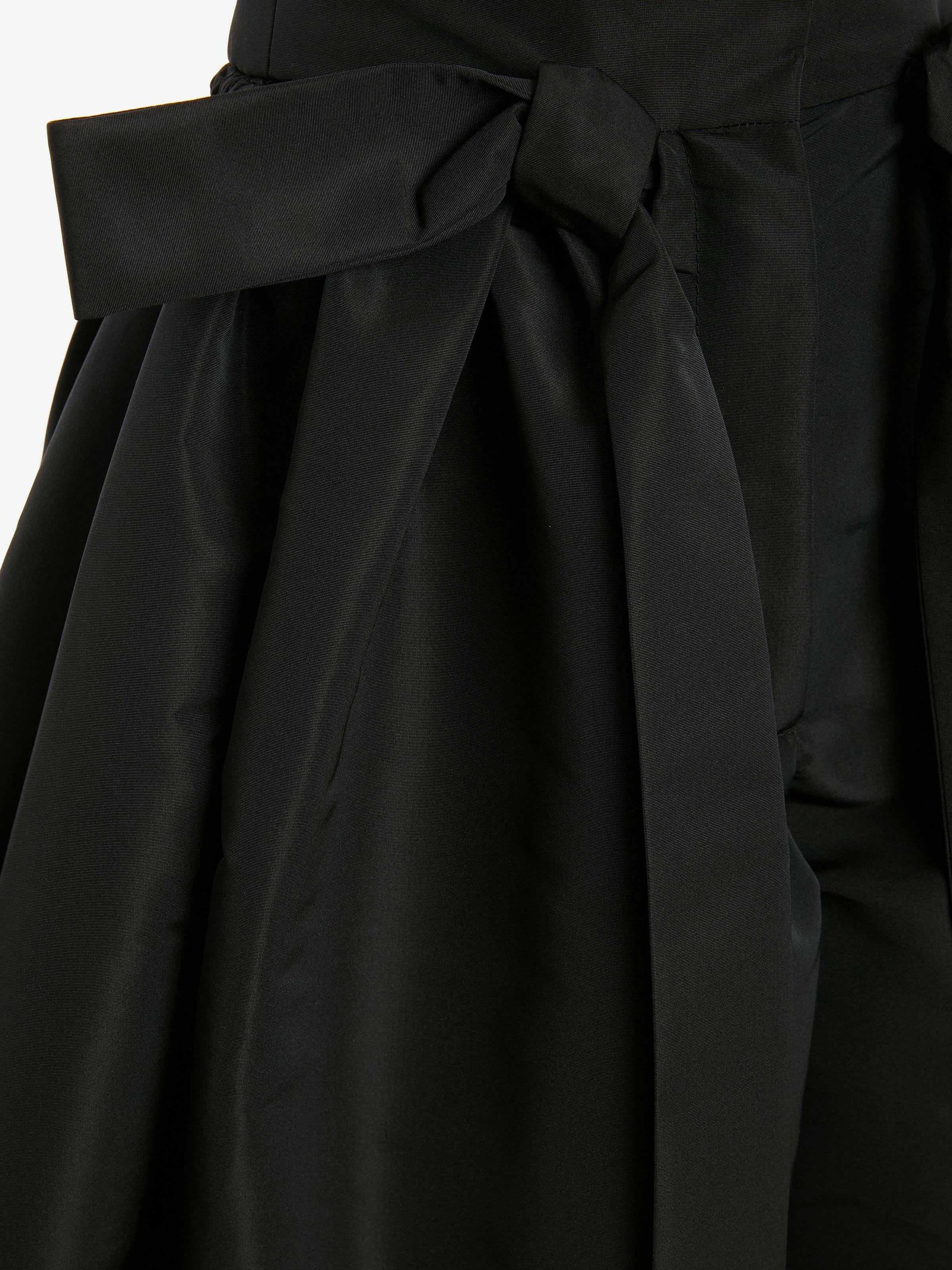 Exploded Ribbon Tie Culottes 4