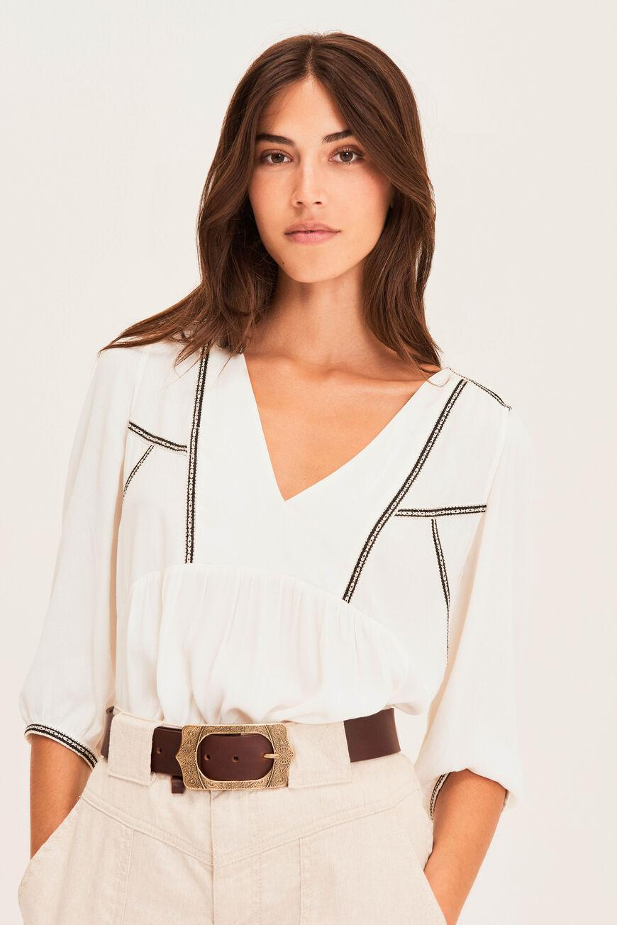 amber.EMBROIDERED BLOUSE 2