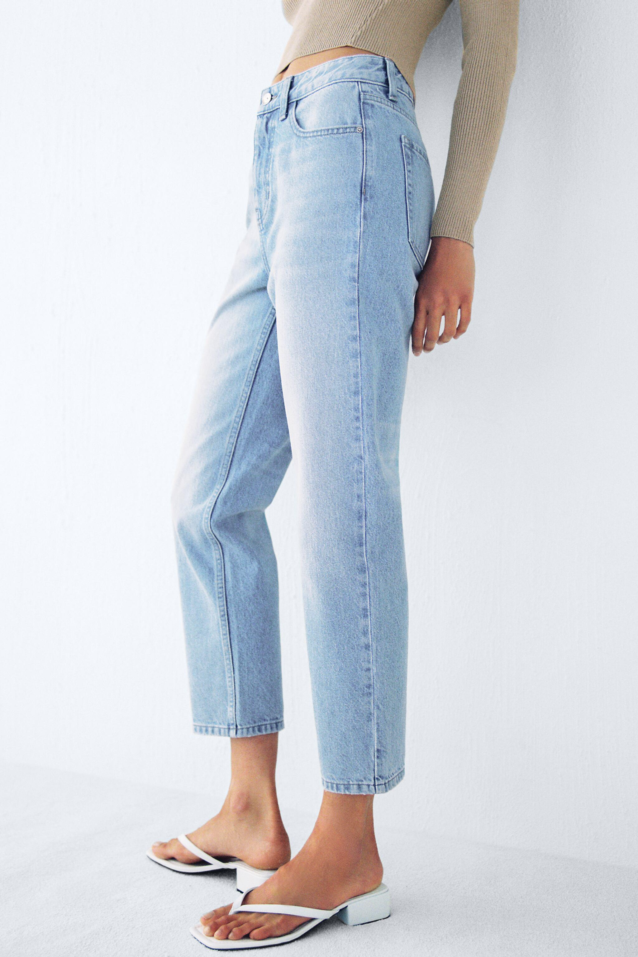 Z1975 HIGH RISE TAPERED JEANS 3