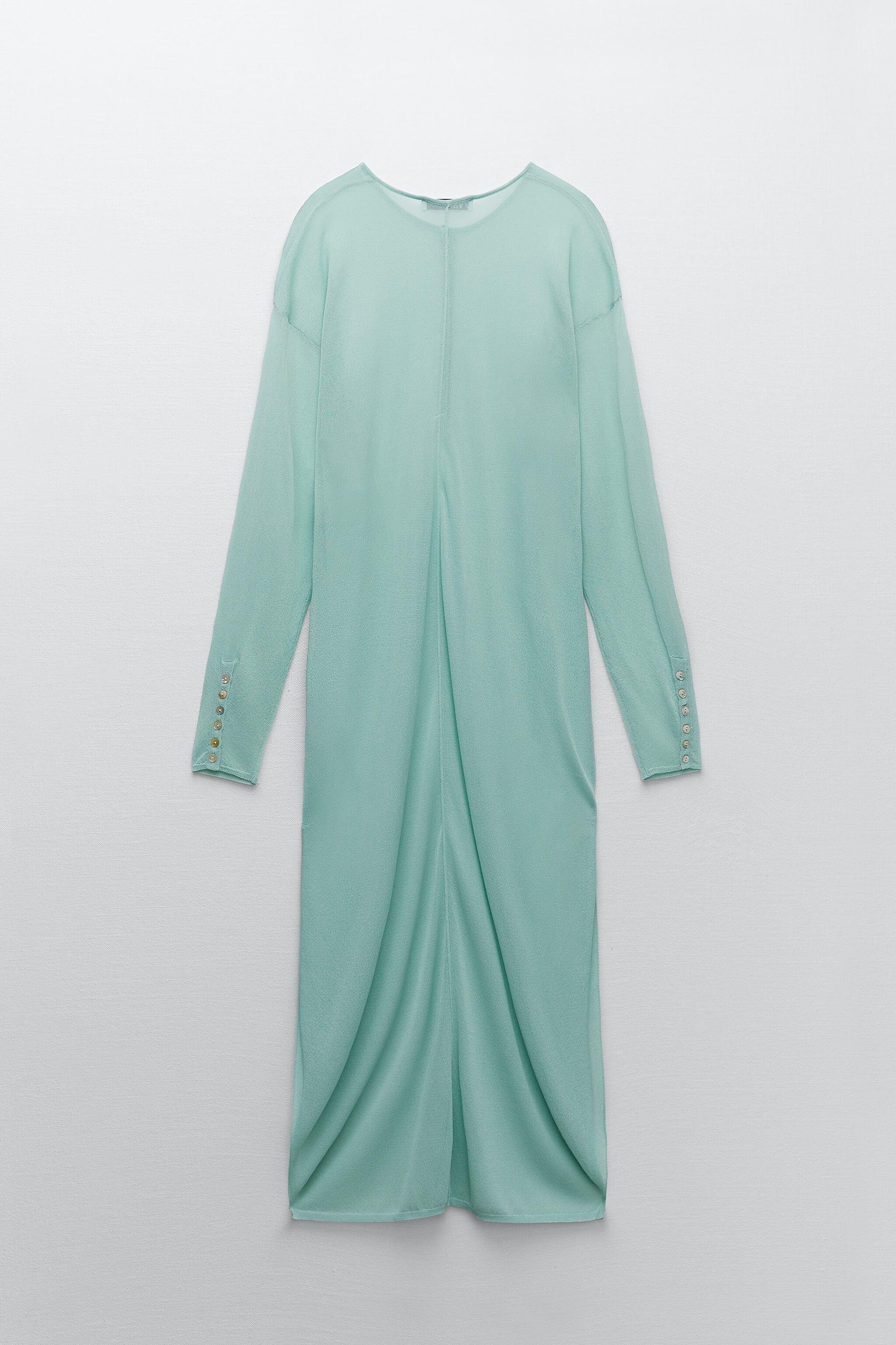 SEMI-SHEER KNIT TUNIC LIMITED EDITION 7