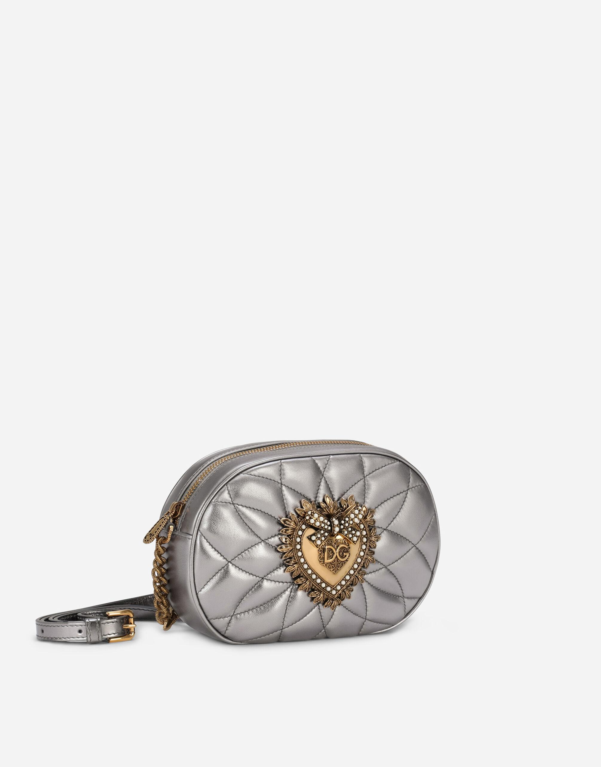 Devotion camera bag in quilted nappa leather 1