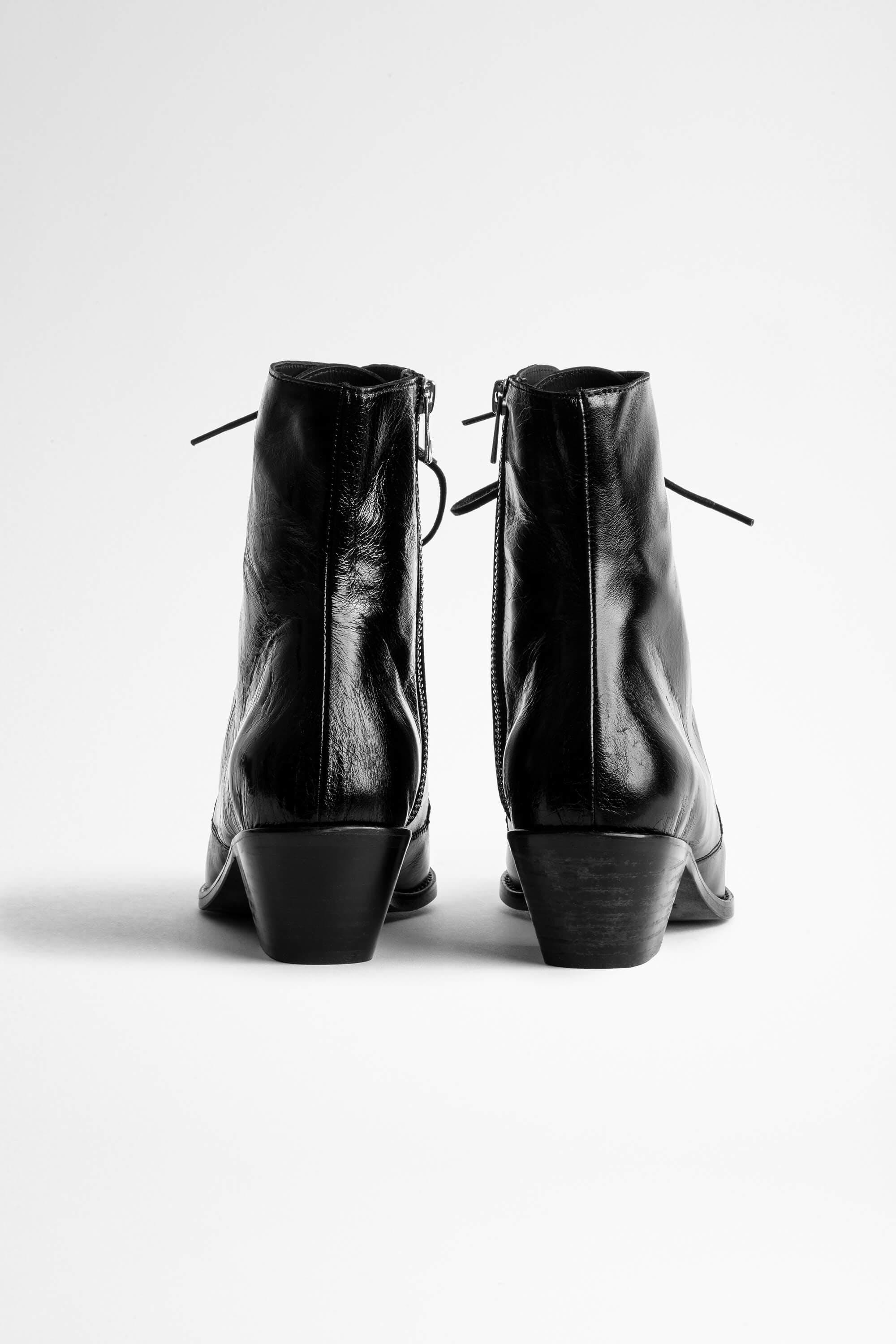Tyler Laced Vintage Ankle Boots 3