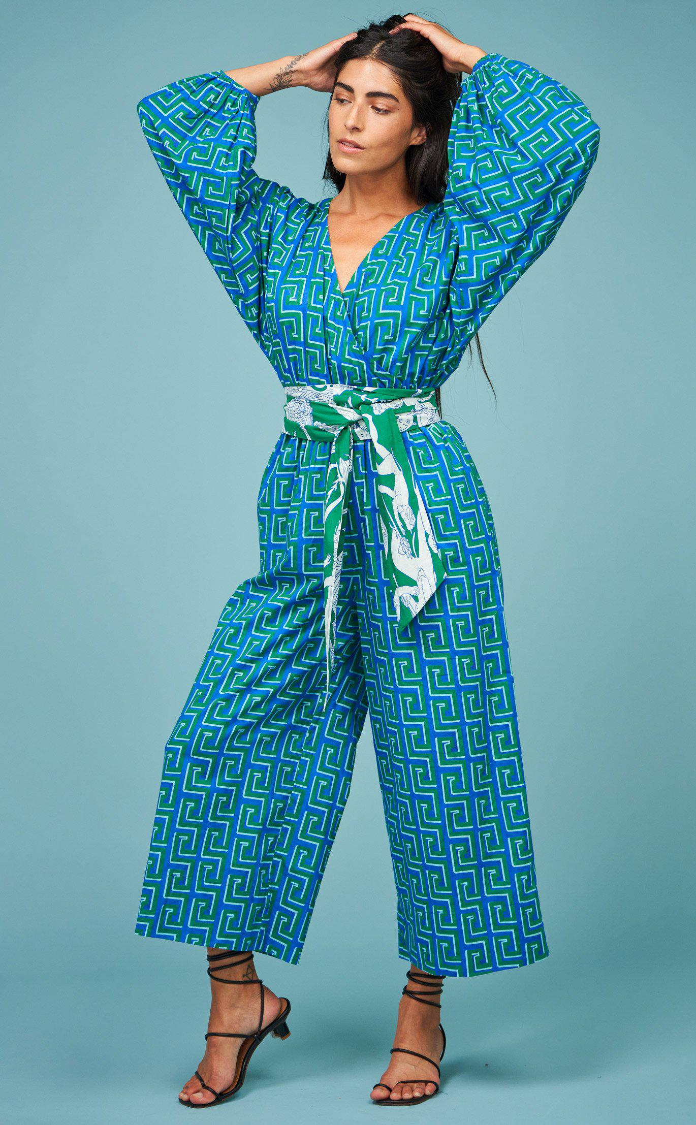 Anika Jumpsuit | Clover Squiggle