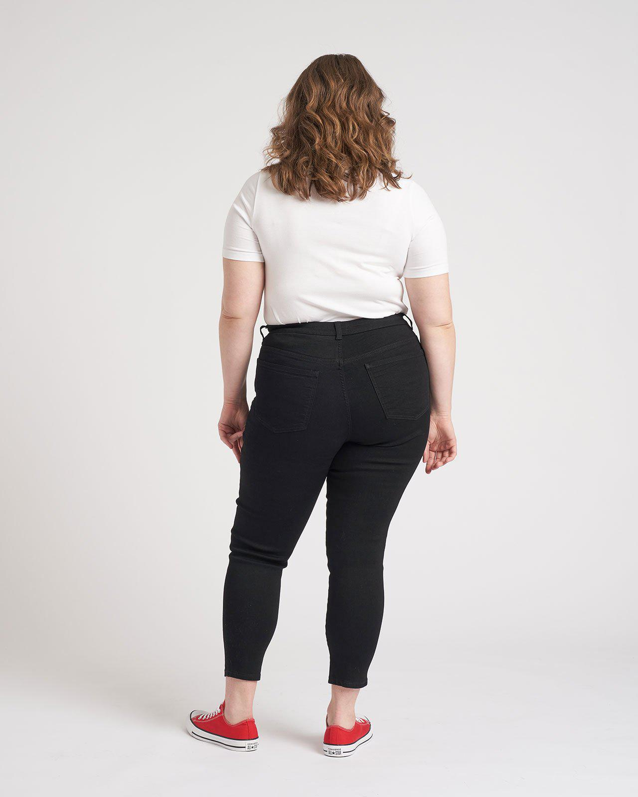 Seine Mid Rise Skinny Jeans 27 Inch 3