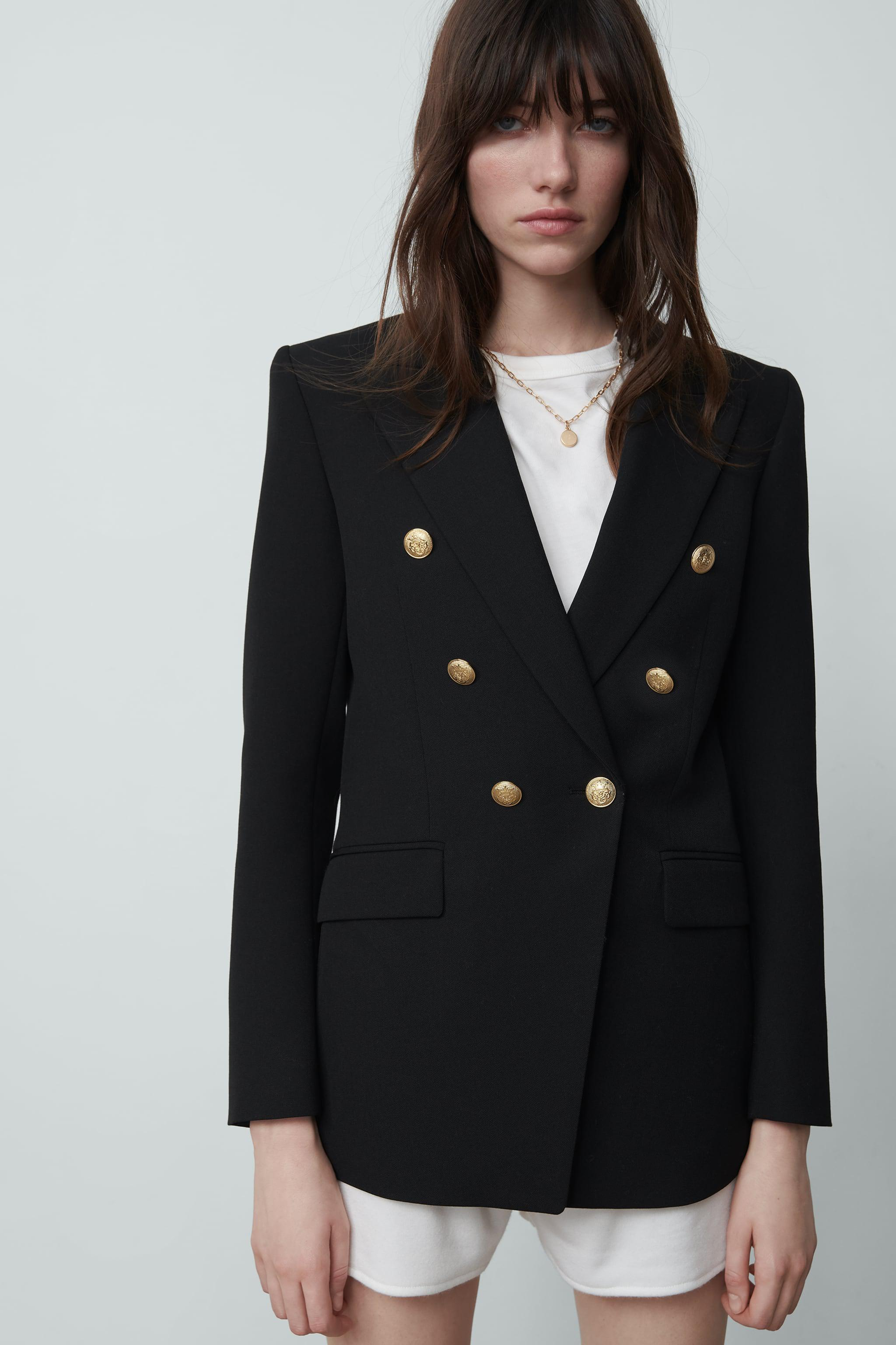 TAILORED DOUBLE BREASTED BLAZER 4