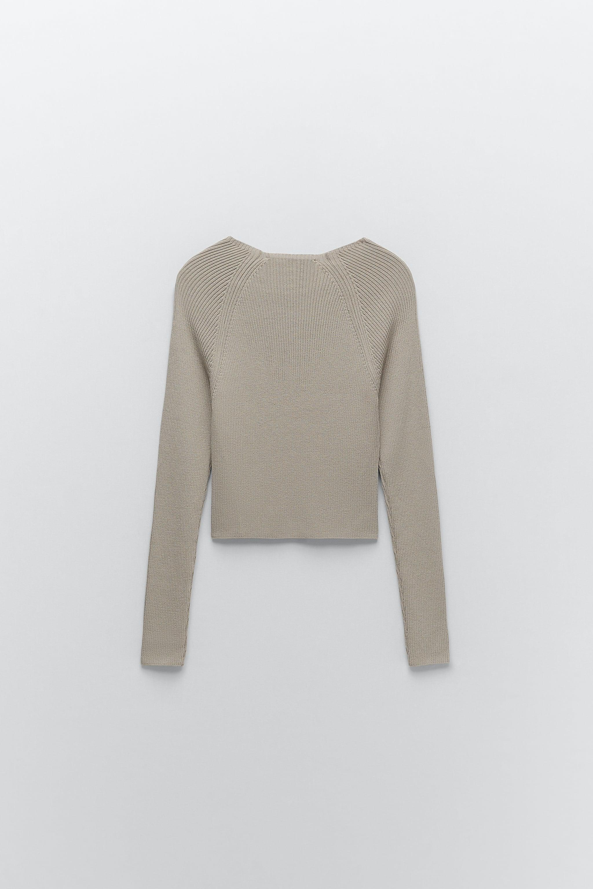 KNIT SWEATER WITH BUTTONS 3