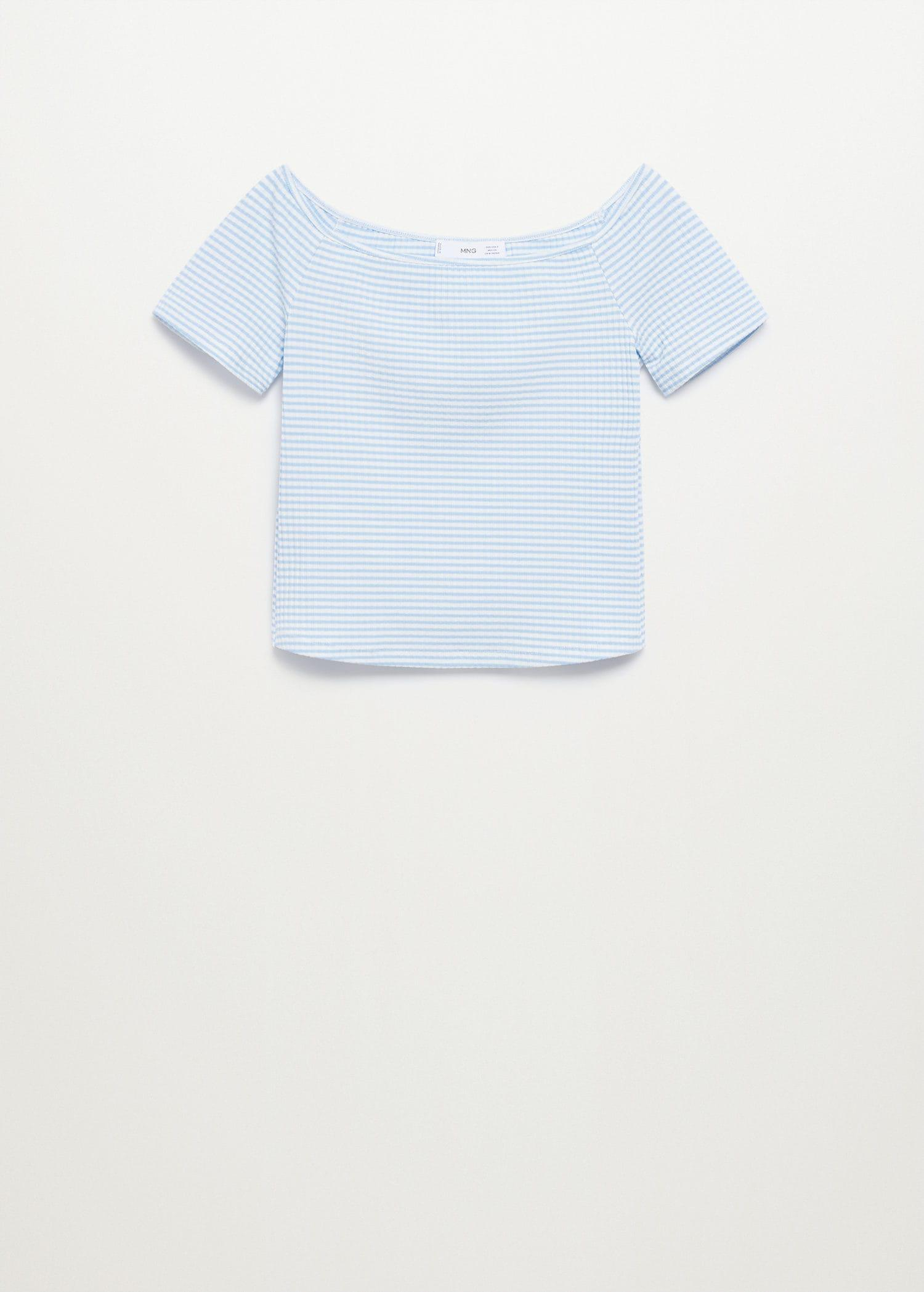 Crop t-shirt recycled polyester dress 6