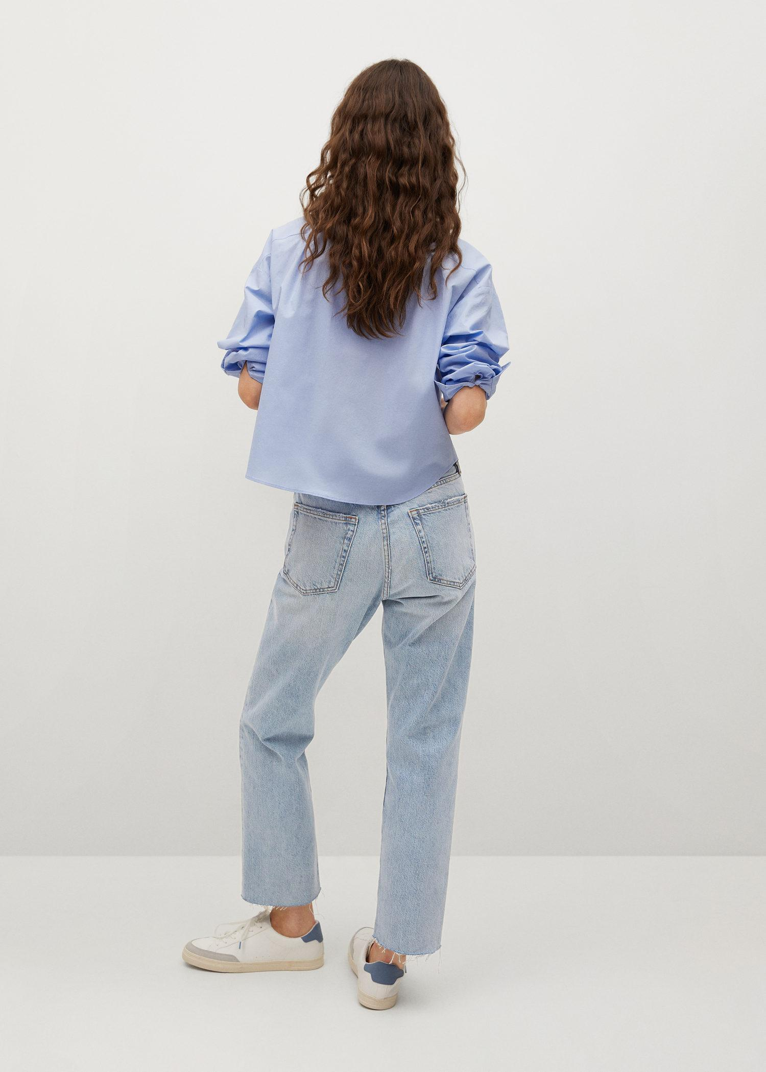 Ankle-length straight-fit jeans 2