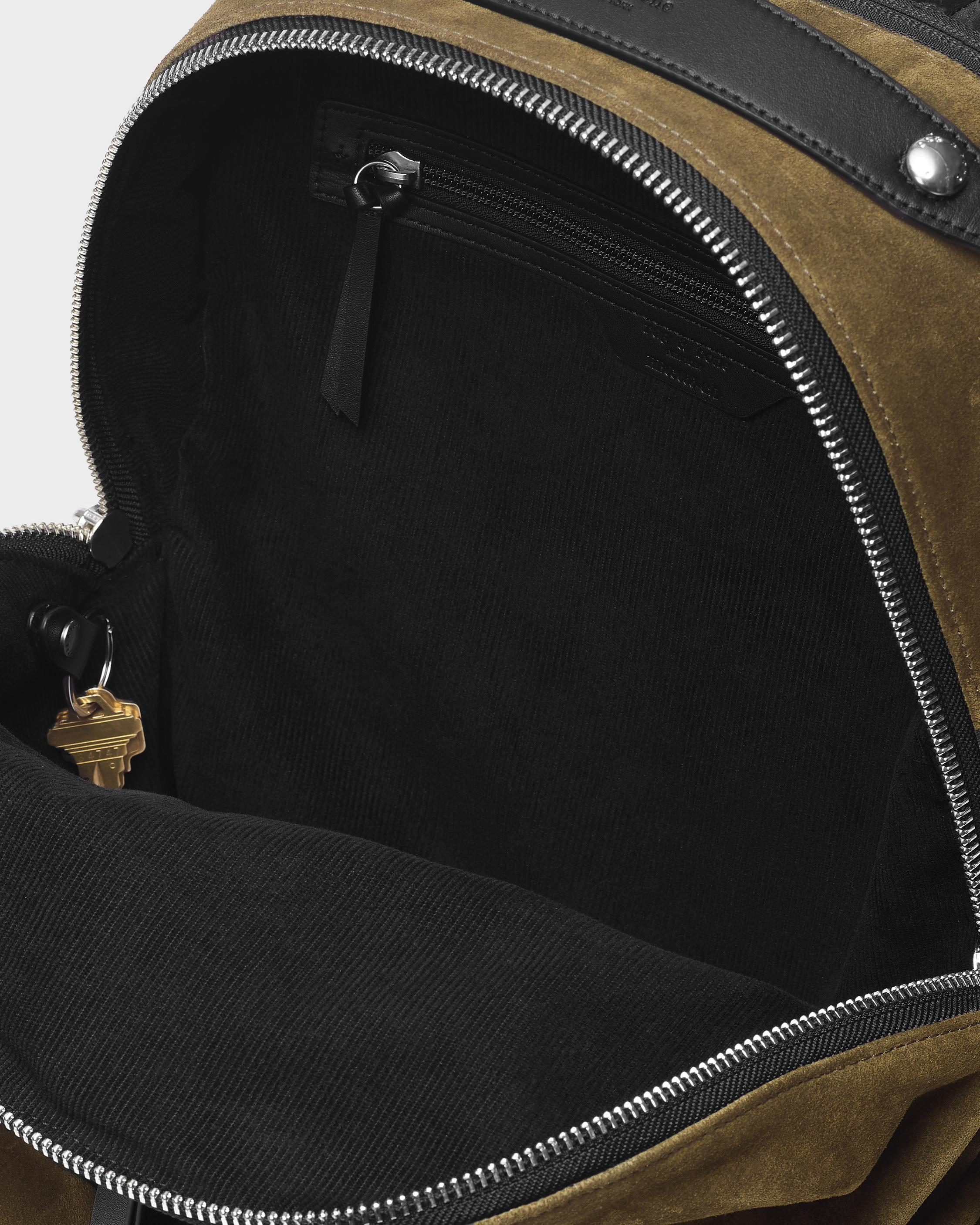 Commuter backpack - suede 3
