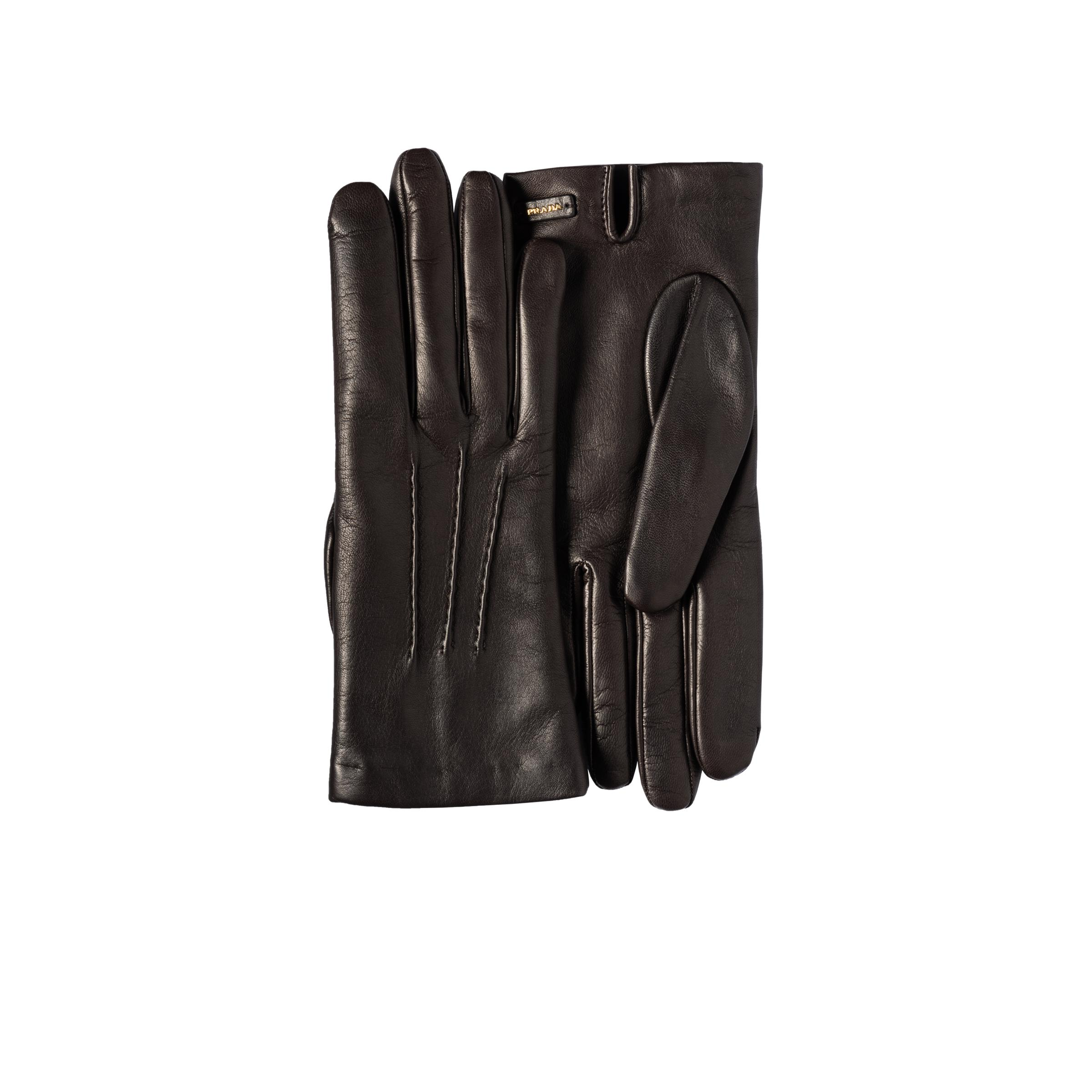 Leather Gloves Women Cocoa Brown