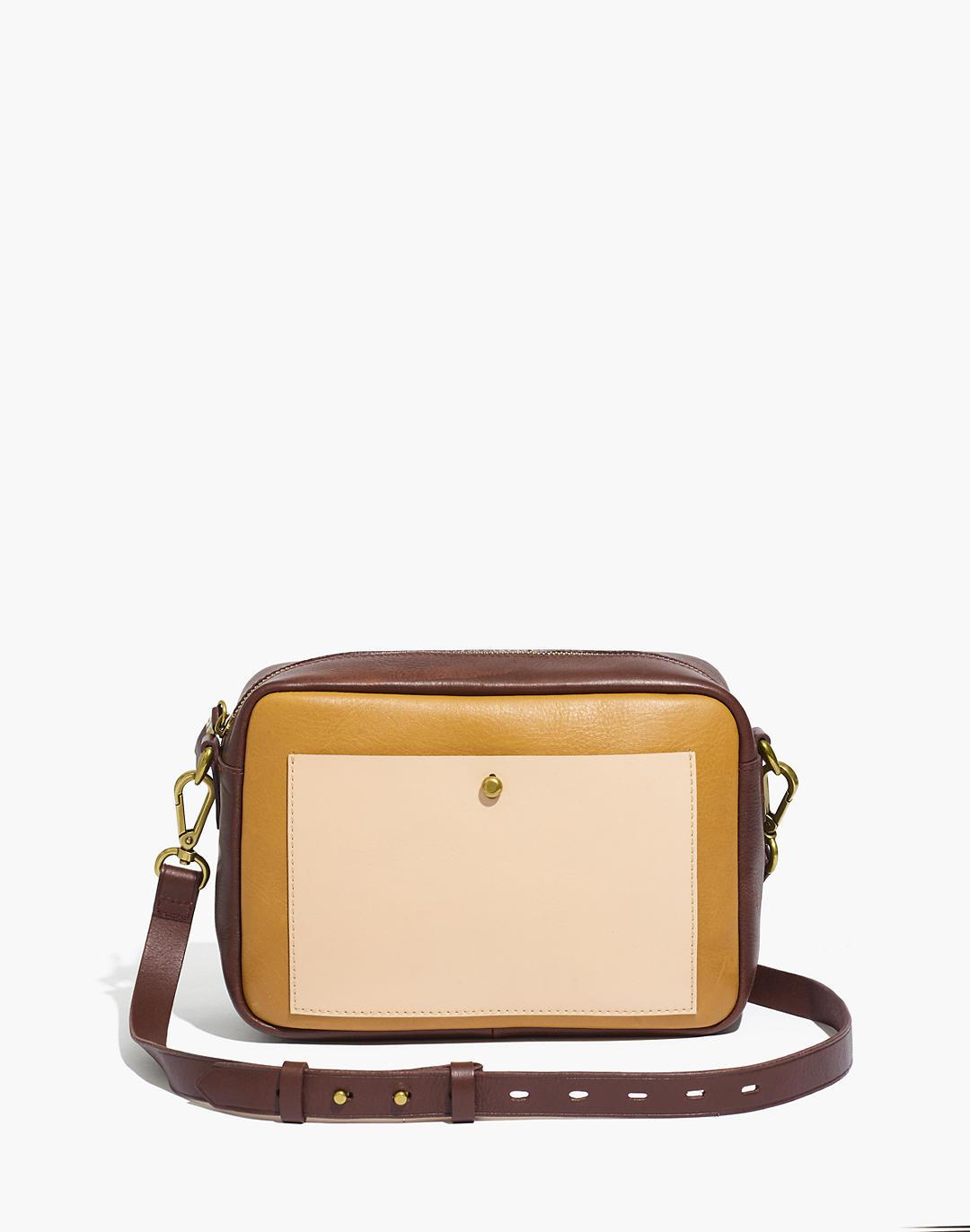 The Large Transport Camera Bag in Colorblock