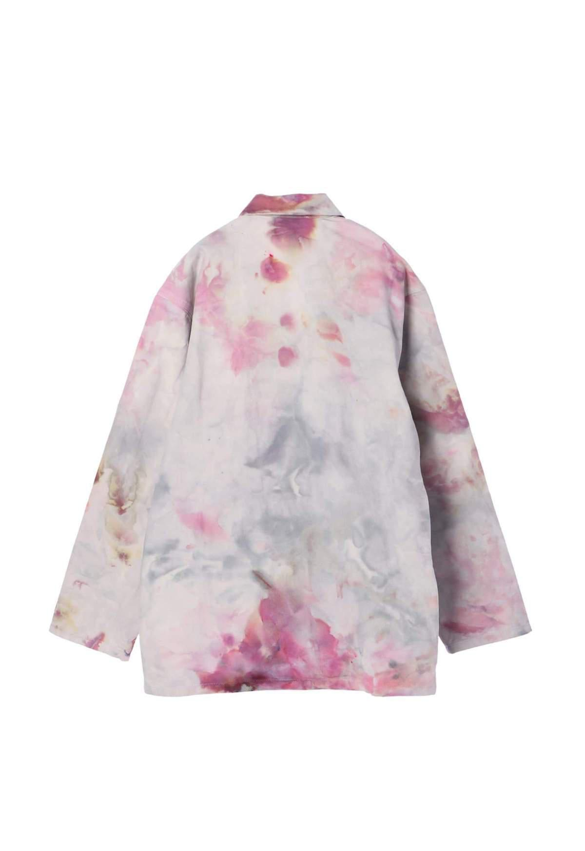Hand Tie Dyed Vintage Dead Stock Jacket 7