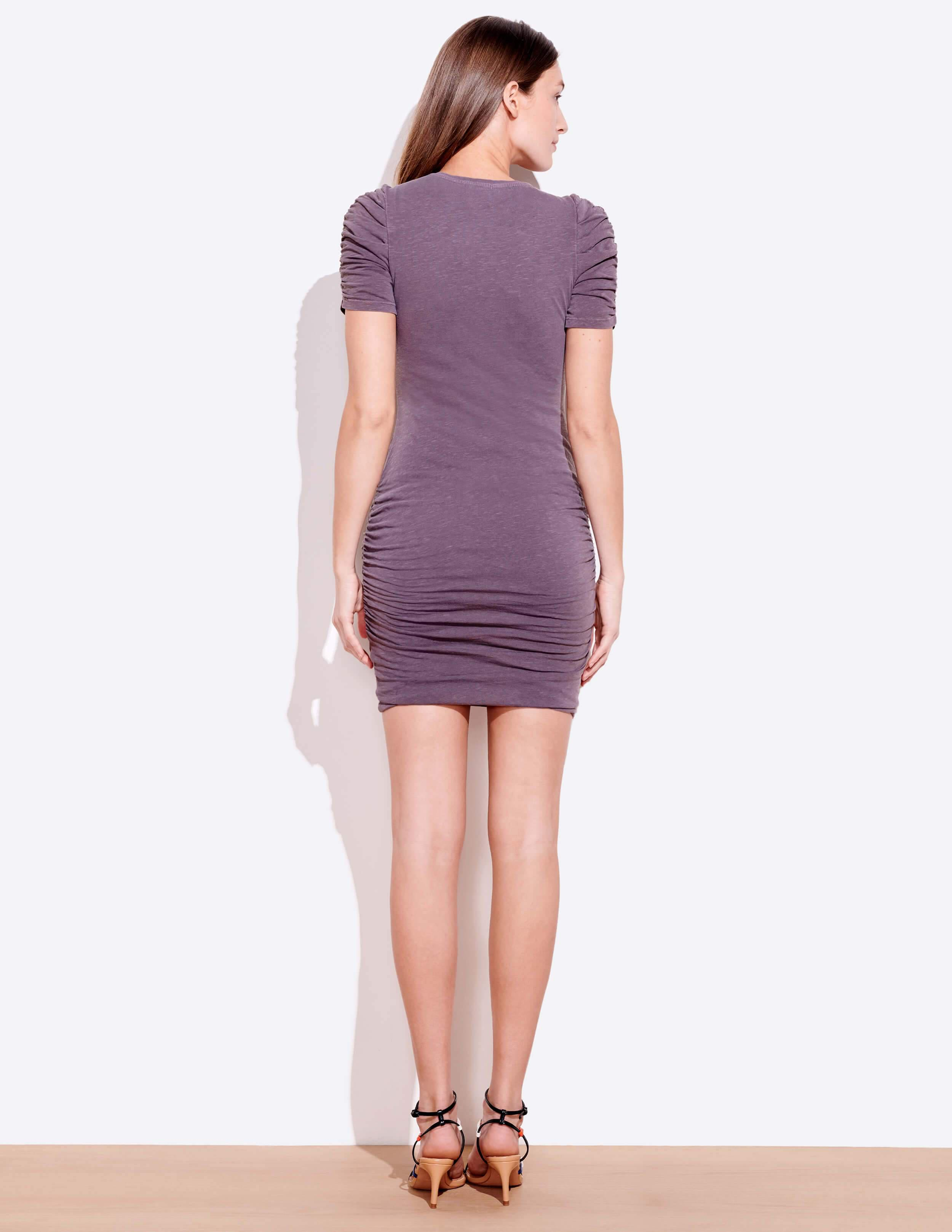 Puff Sleeve Ruched Dress 3