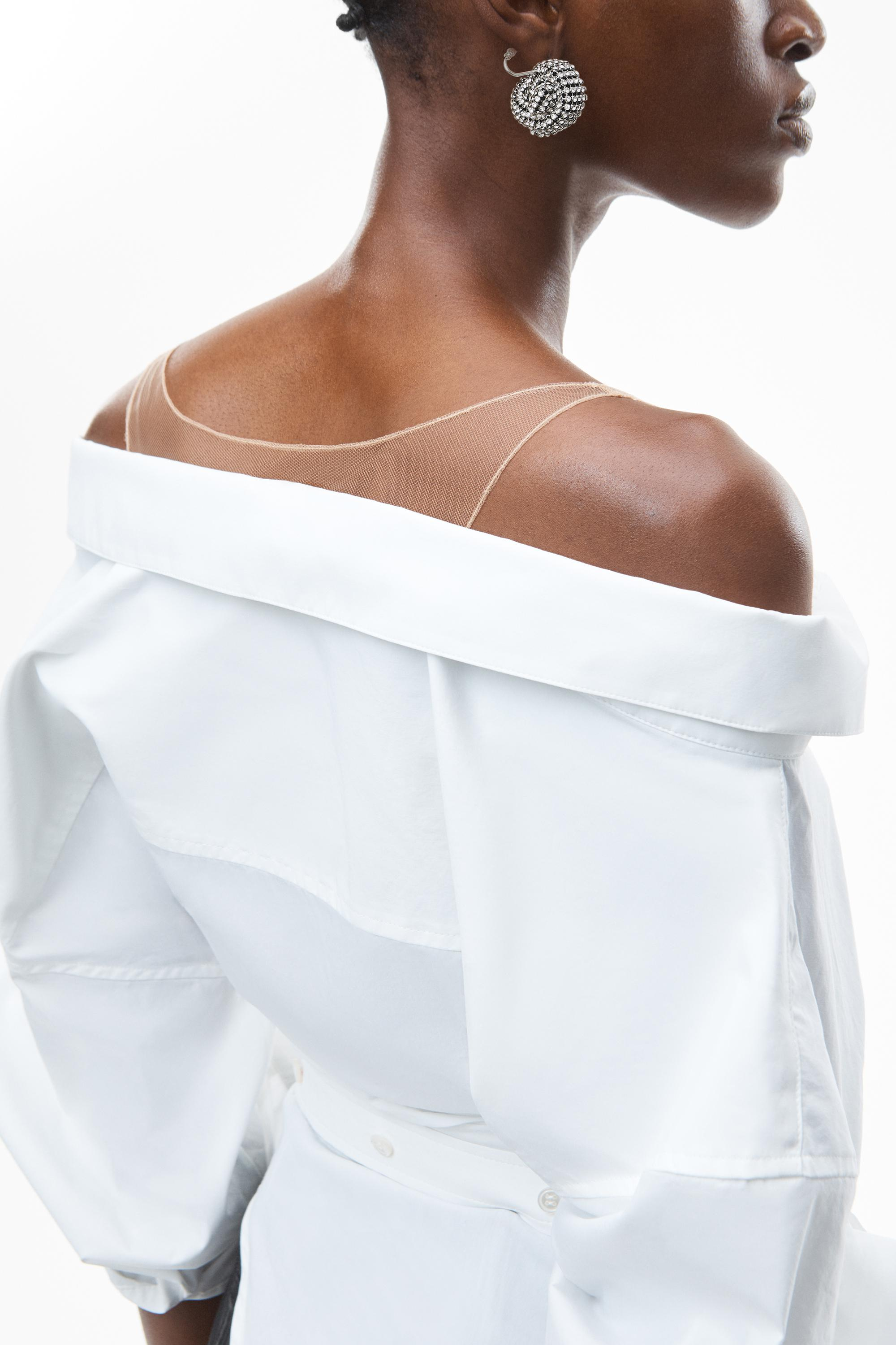 deconstructed top in crushed cotton 2