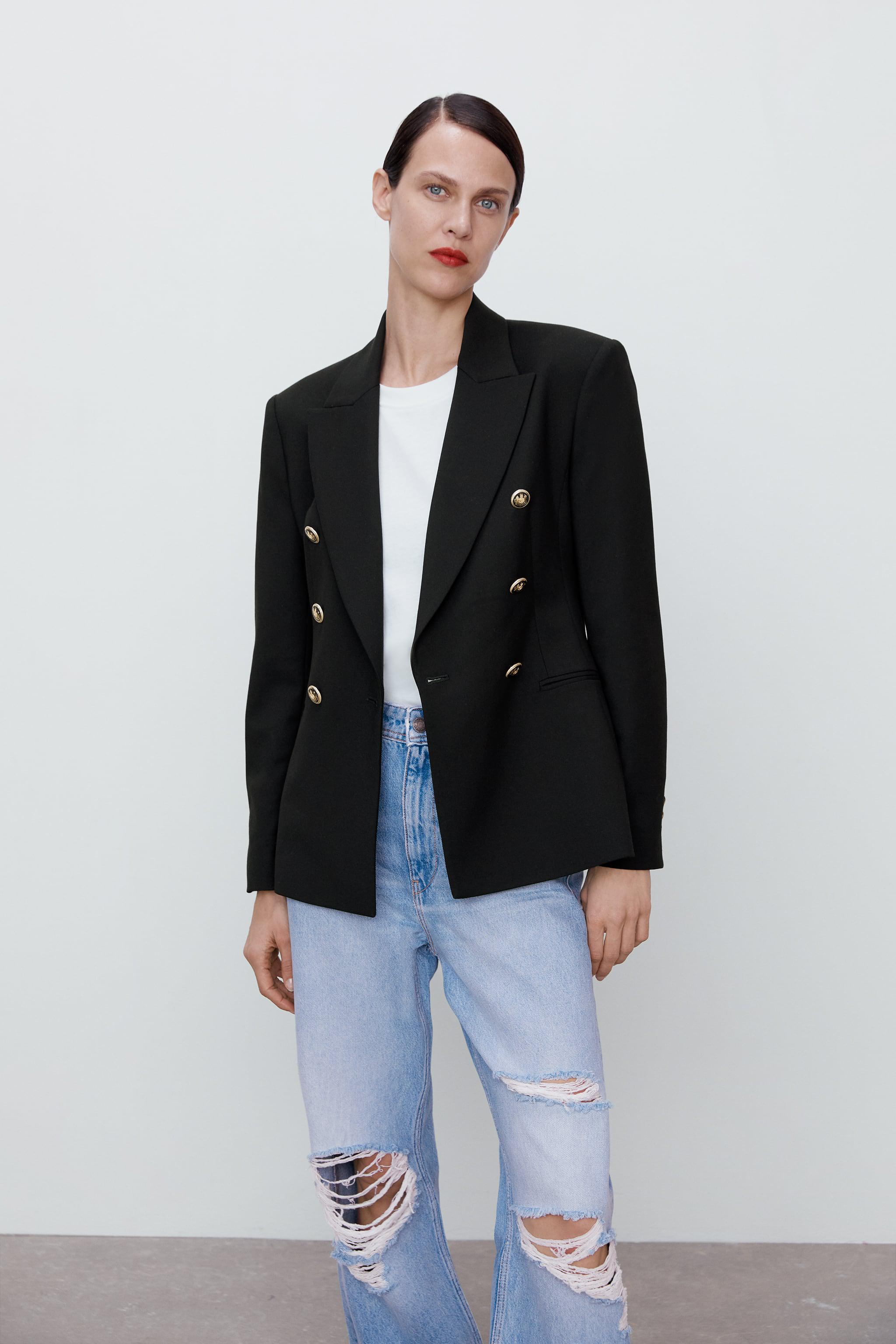 DOUBLE BREASTED BLAZER 1