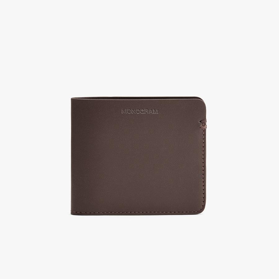 Women's Leather Folding Wallet in Dark Brown | Smooth Leather by Cuyana 3