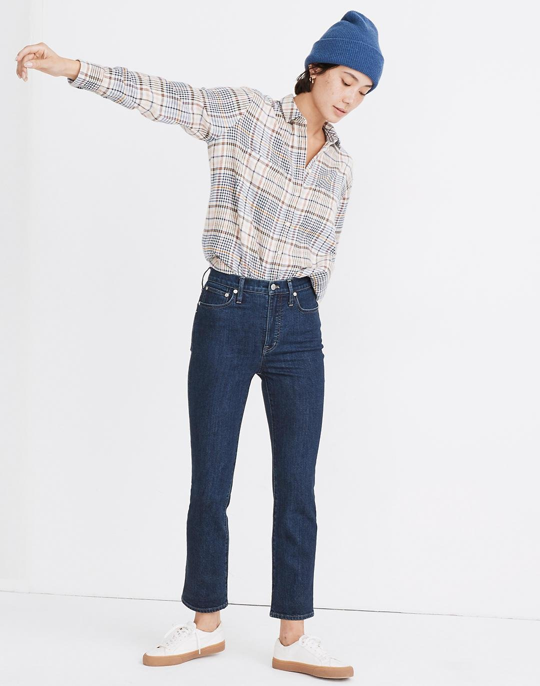 Slim Demi-Boot Jeans in Midwick Wash