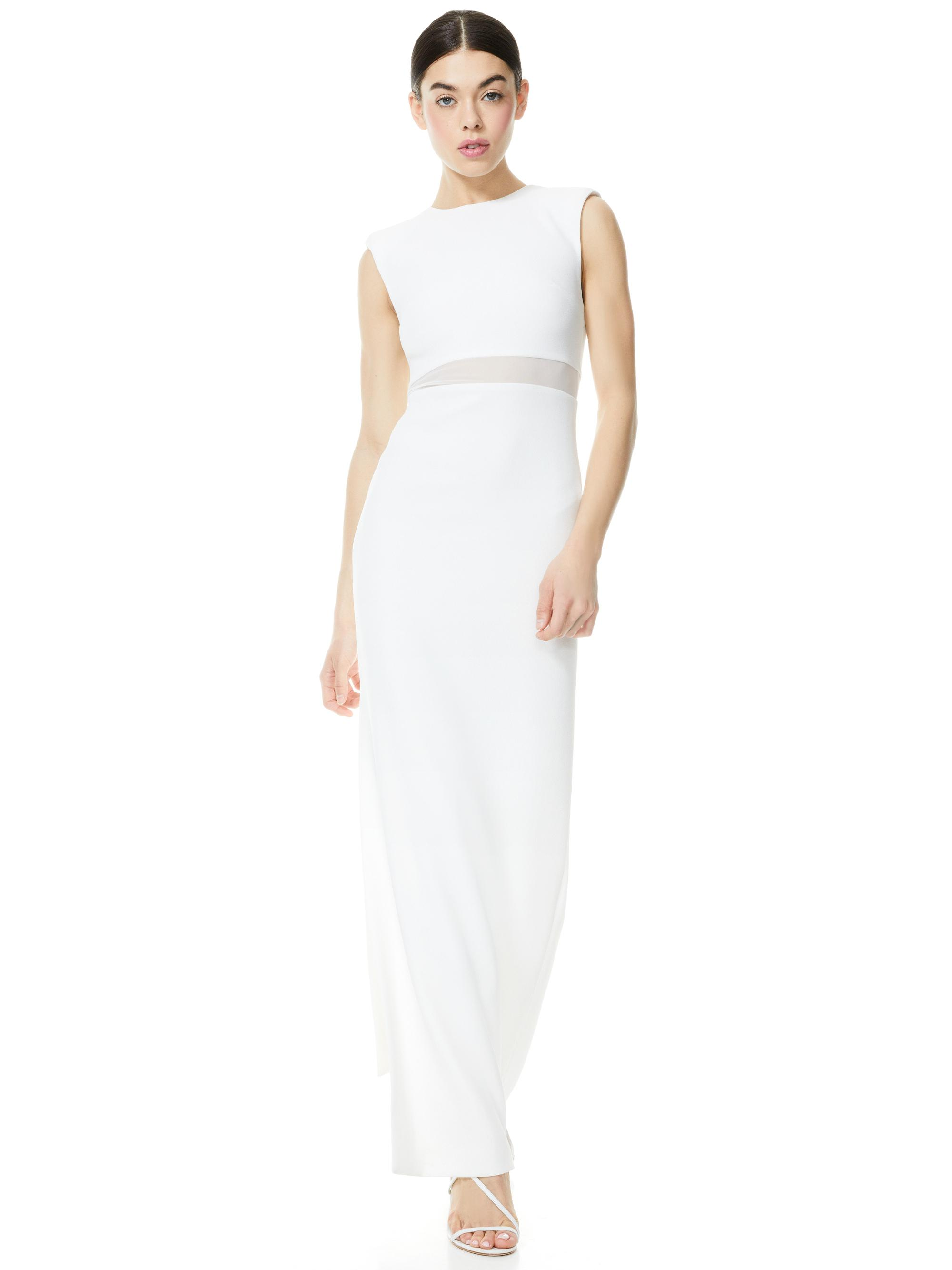 WHITLEY SLEEVELESS GOWN