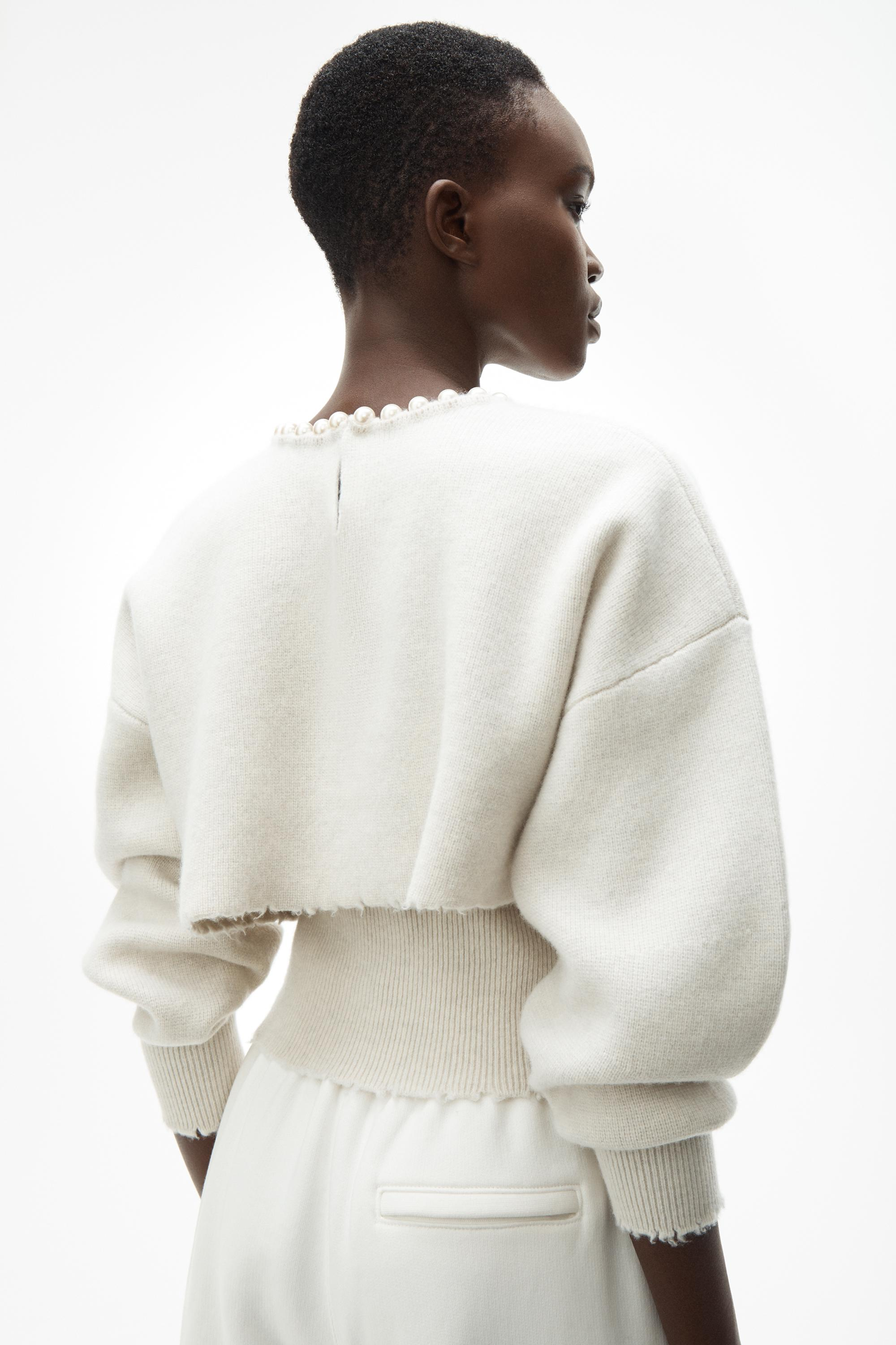 pearl necklace pullover 4