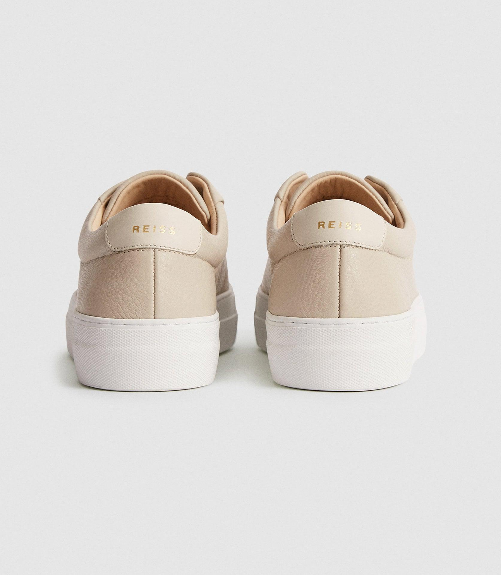 LUCA - TUMBLED LEATHER SNEAKERS 3