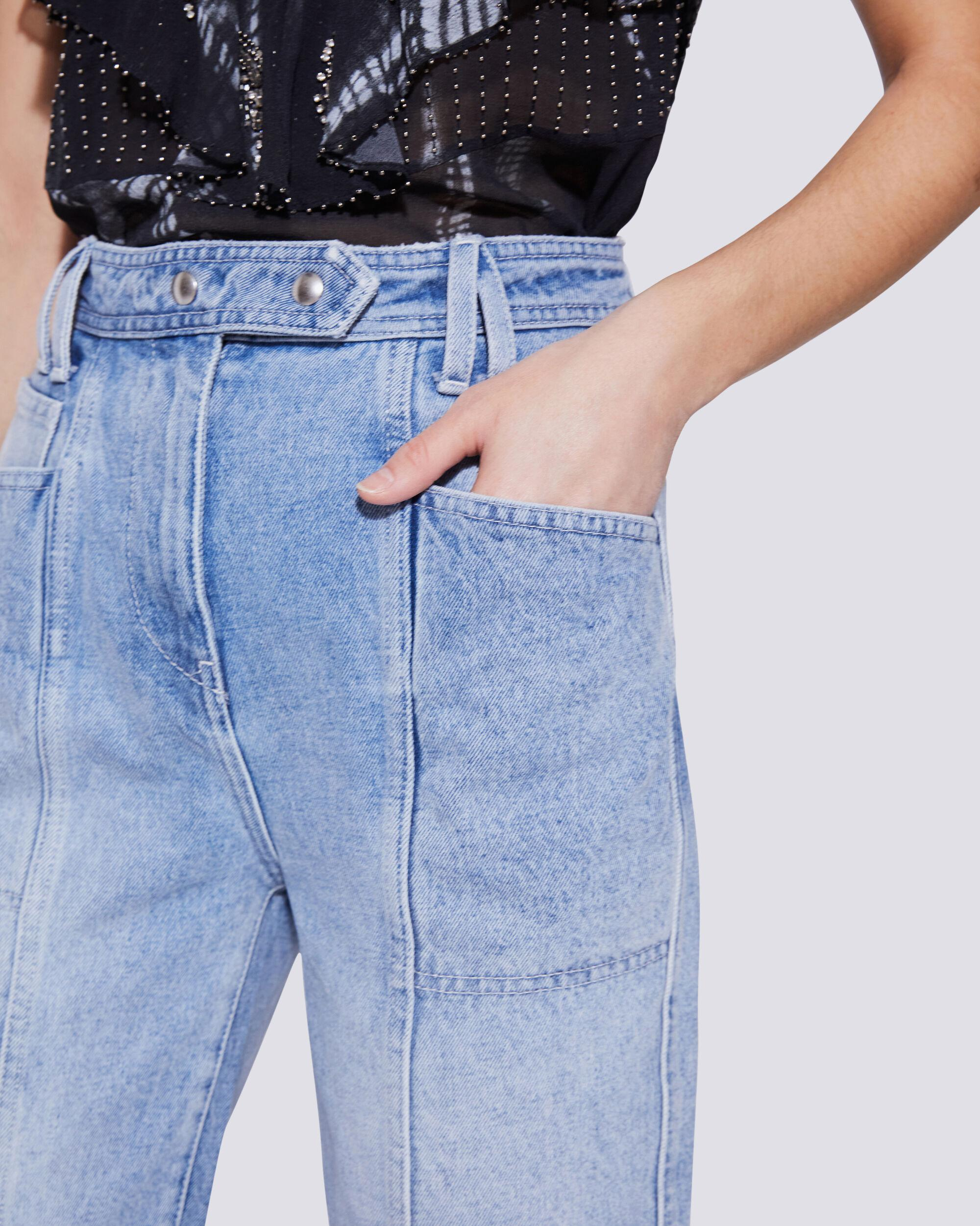 ORIONIS RELAXED HIGH RISE STRAIGHT LEG JEANS 3