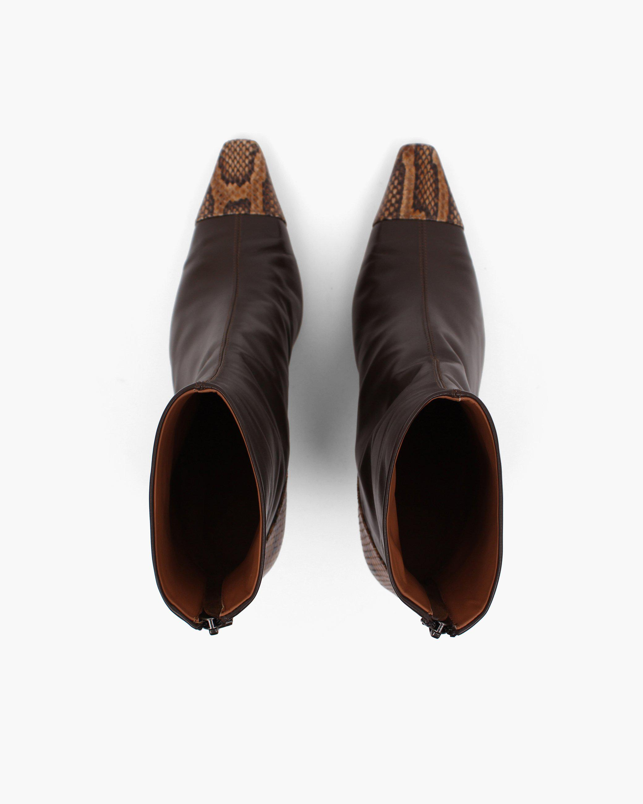 Marley Boot Leather Brown 3