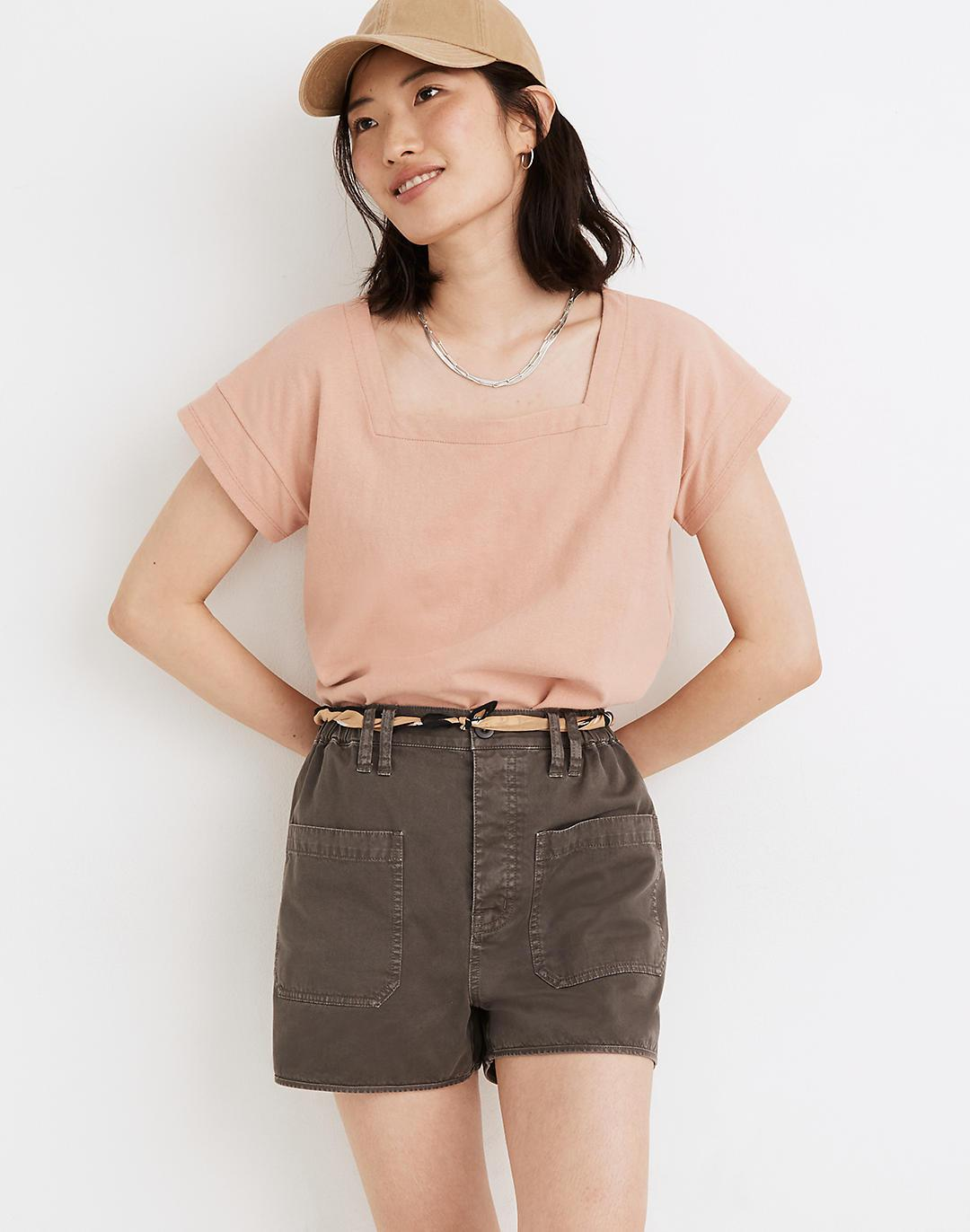 Belclaire Pull-On Shorts