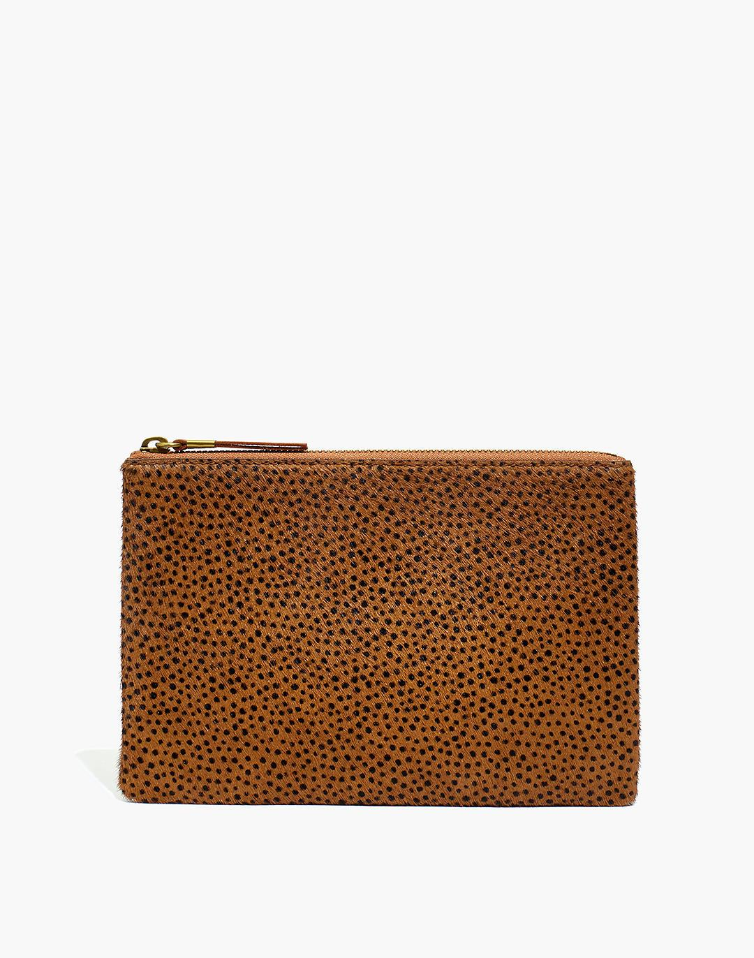 The Calf Hair Pouch Clutch: Spotted Edition