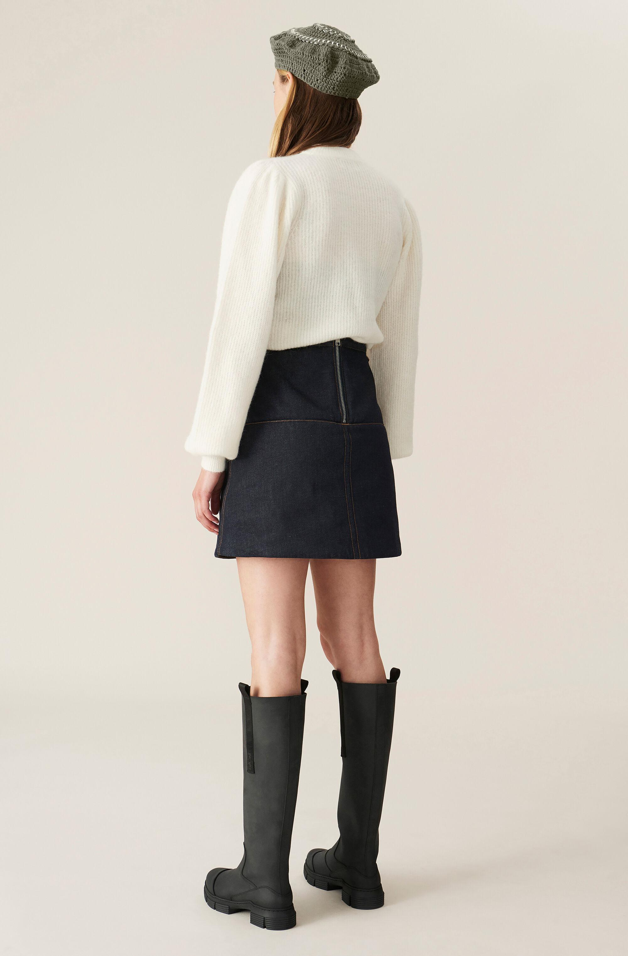Soft Wool Knit Pullover - Solid 2