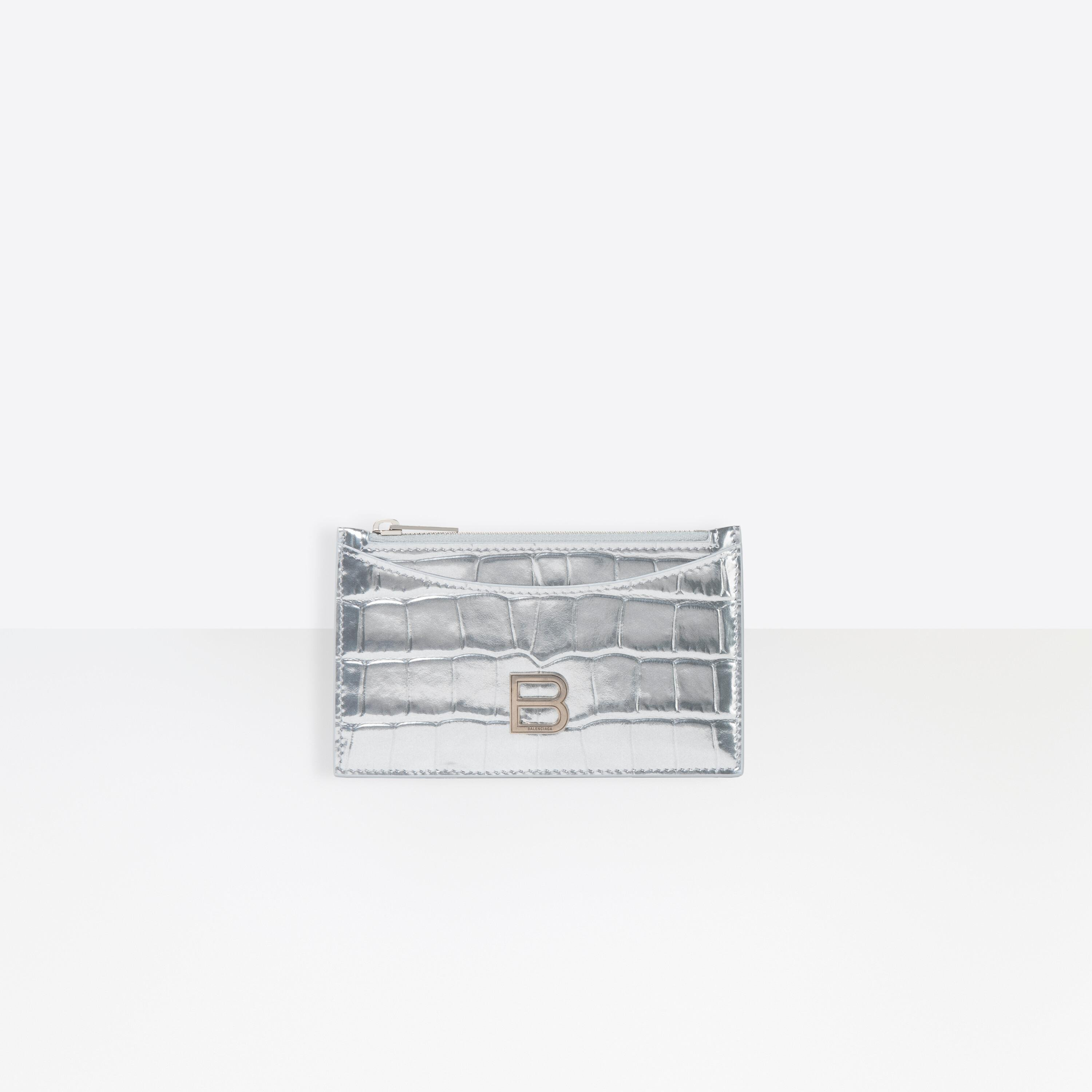 Hourglass Long Coin and Card Holder