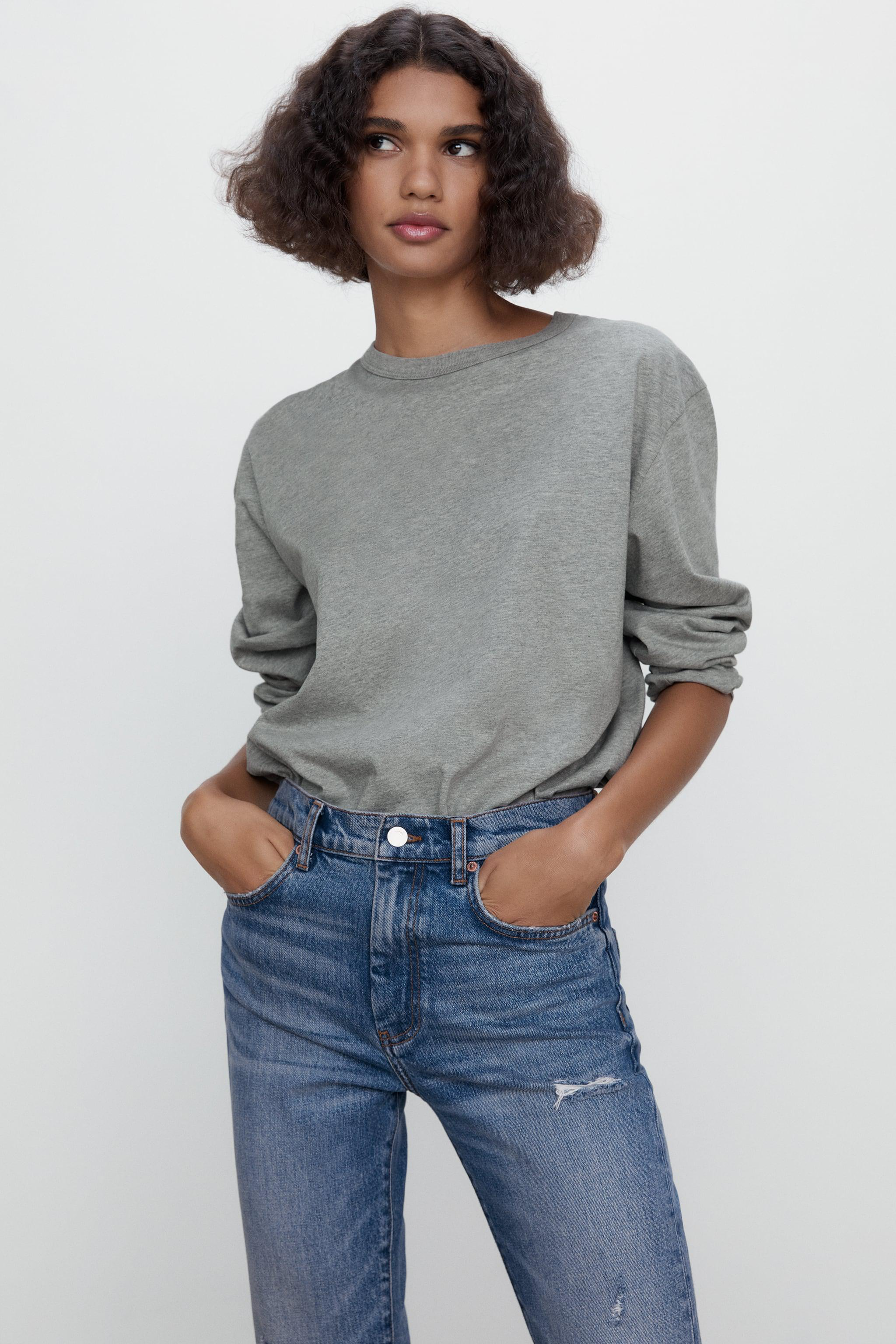 ZW THE NEW SLIM CROPPED JEANS 1