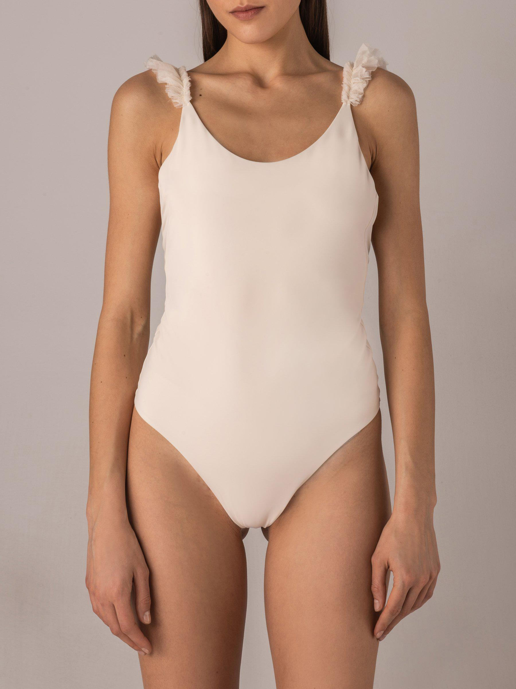 Silky Wings Simple One-Piece