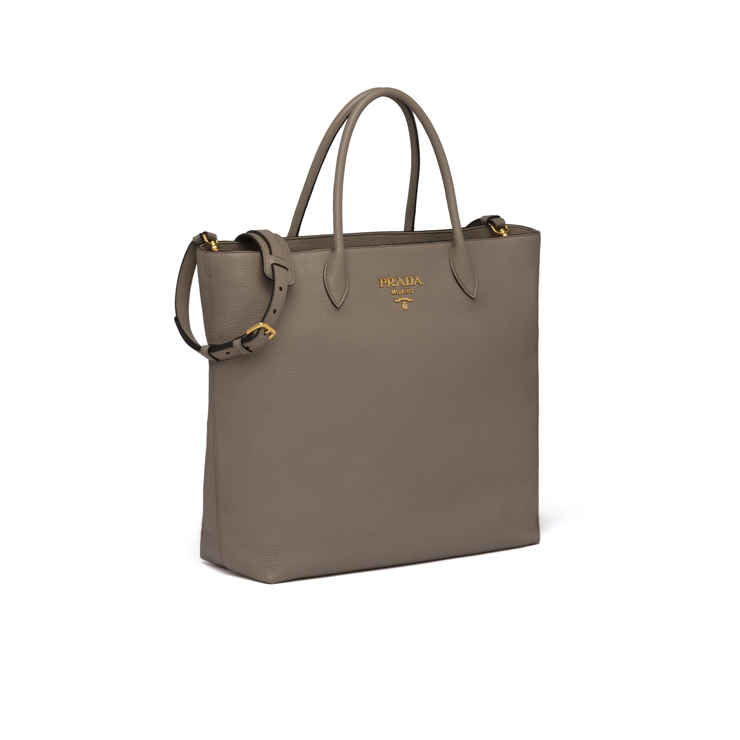 Leather Tote Women Clay Gray 2