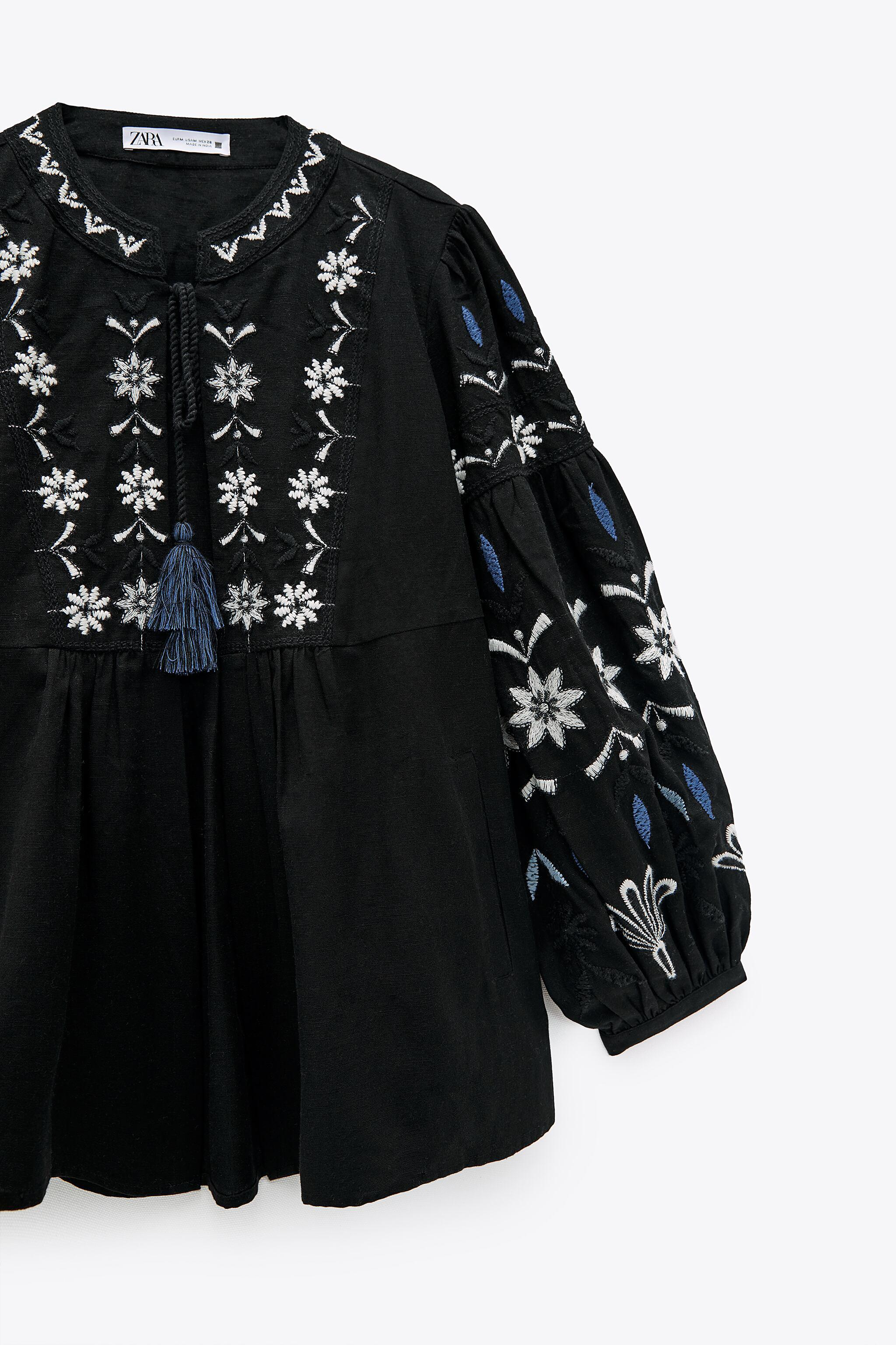EMBROIDERED COTTON OVERSHIRT 7
