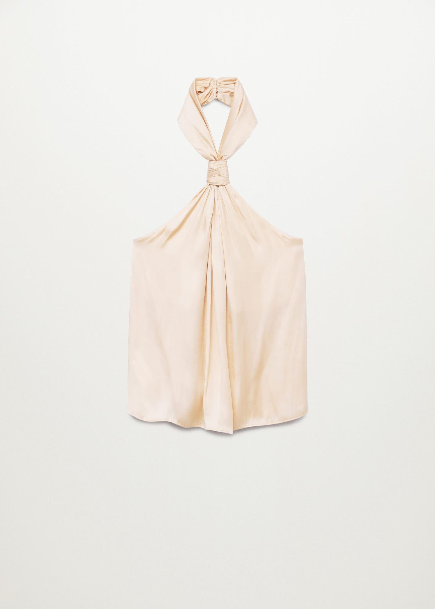 Knotted flowy top 7