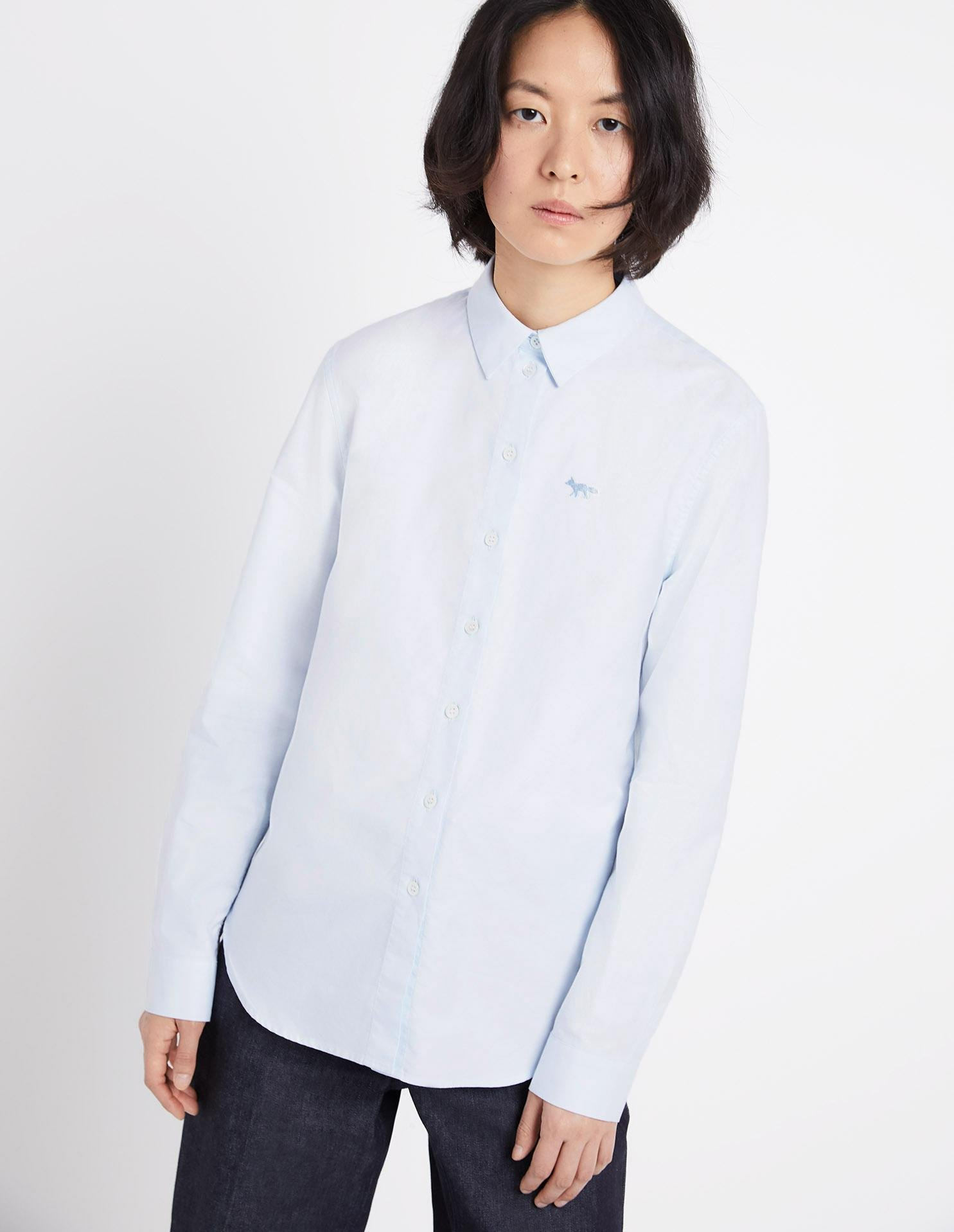 FOX EMBROIDERY CLASSIC SHIRT 1
